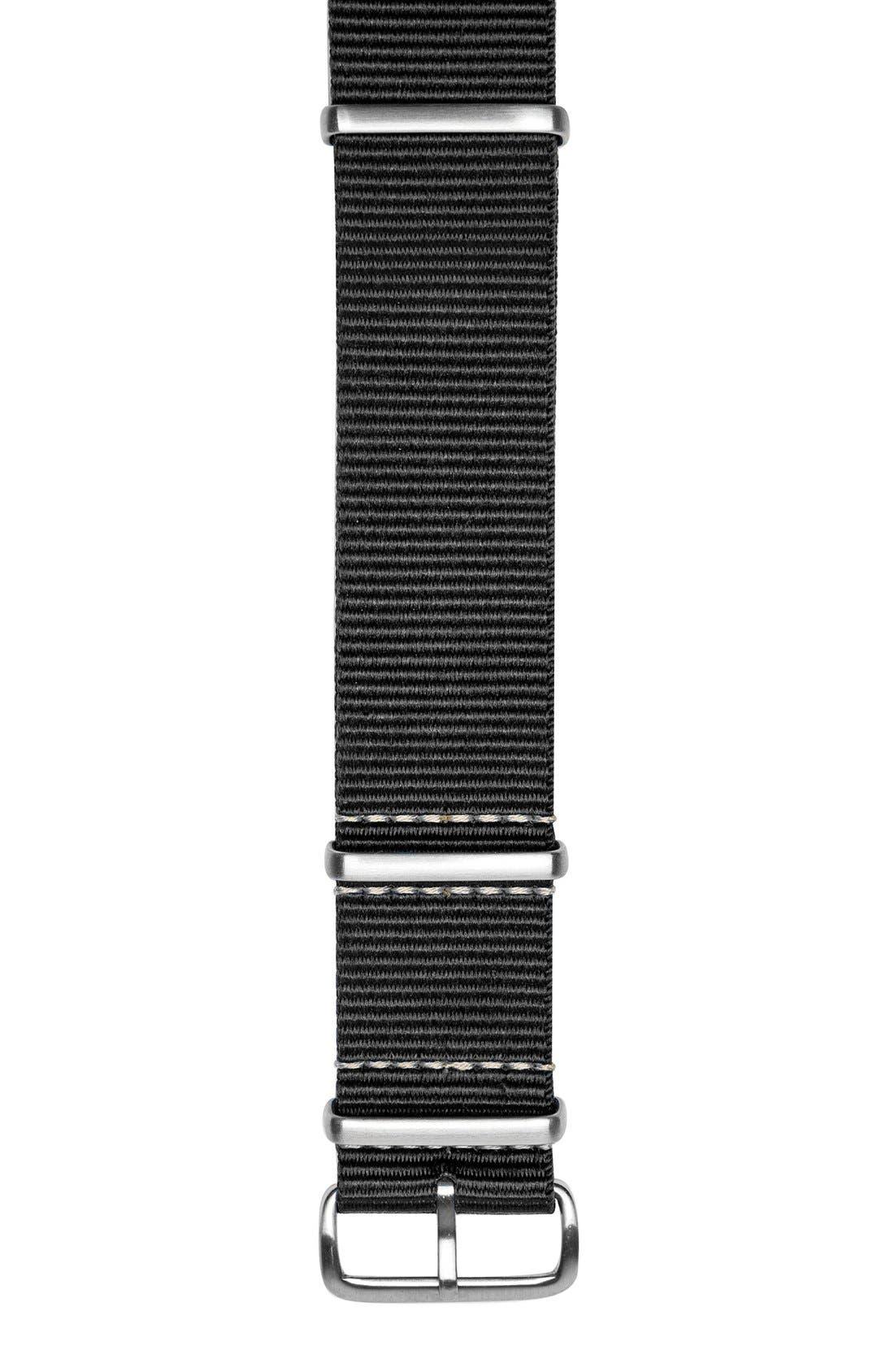 Nylon Nato Strap, 22mm,                             Alternate thumbnail 2, color,                             001