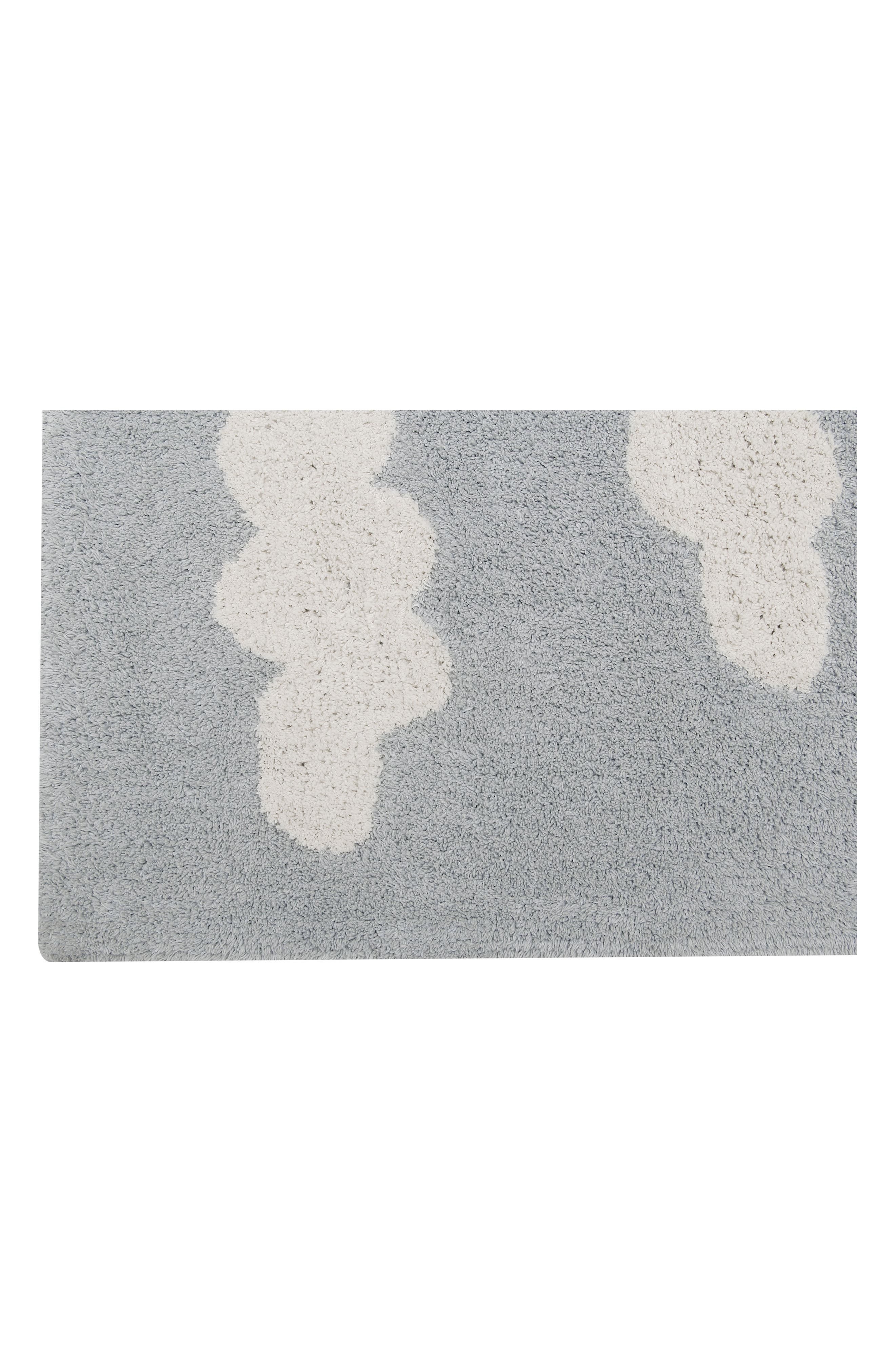 Clouds Rug,                             Alternate thumbnail 5, color,                             CLOUDS GREY