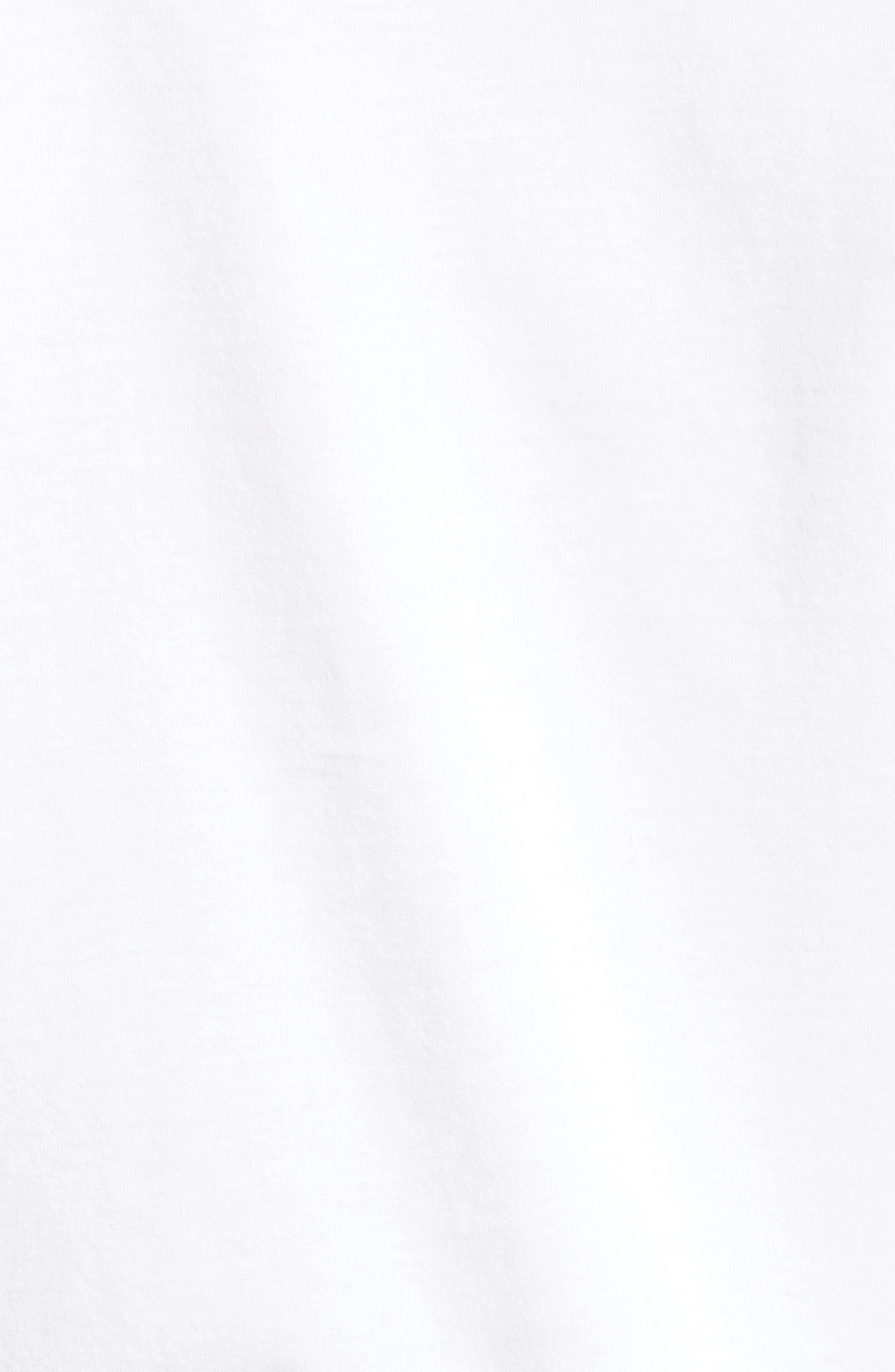 Sketch Screenprint T-Shirt,                             Alternate thumbnail 5, color,                             100