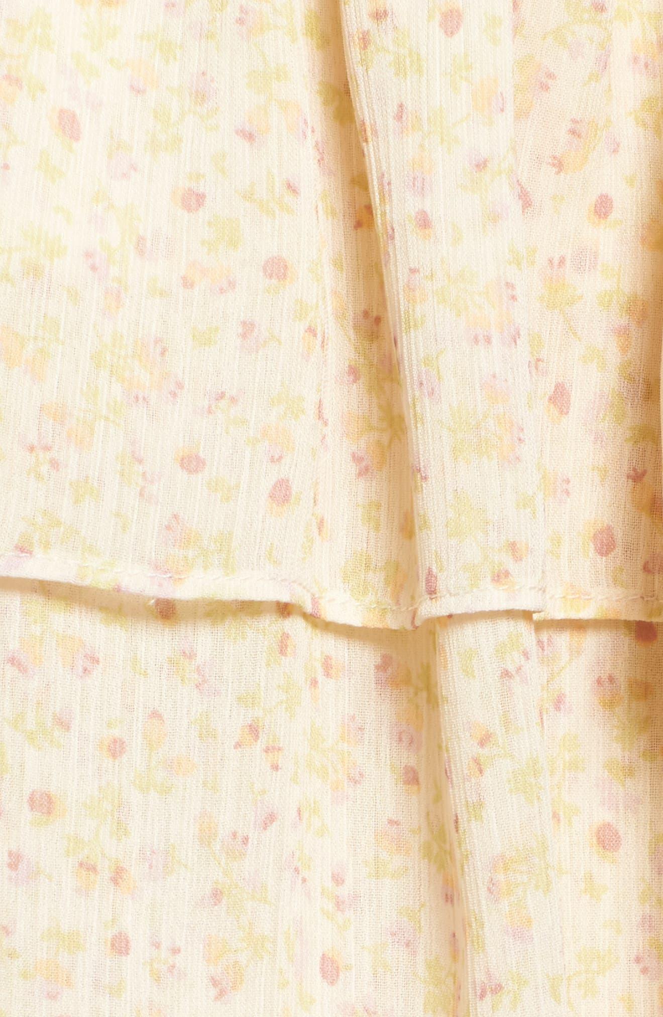 Pebble Blouson Minidress,                             Alternate thumbnail 5, color,