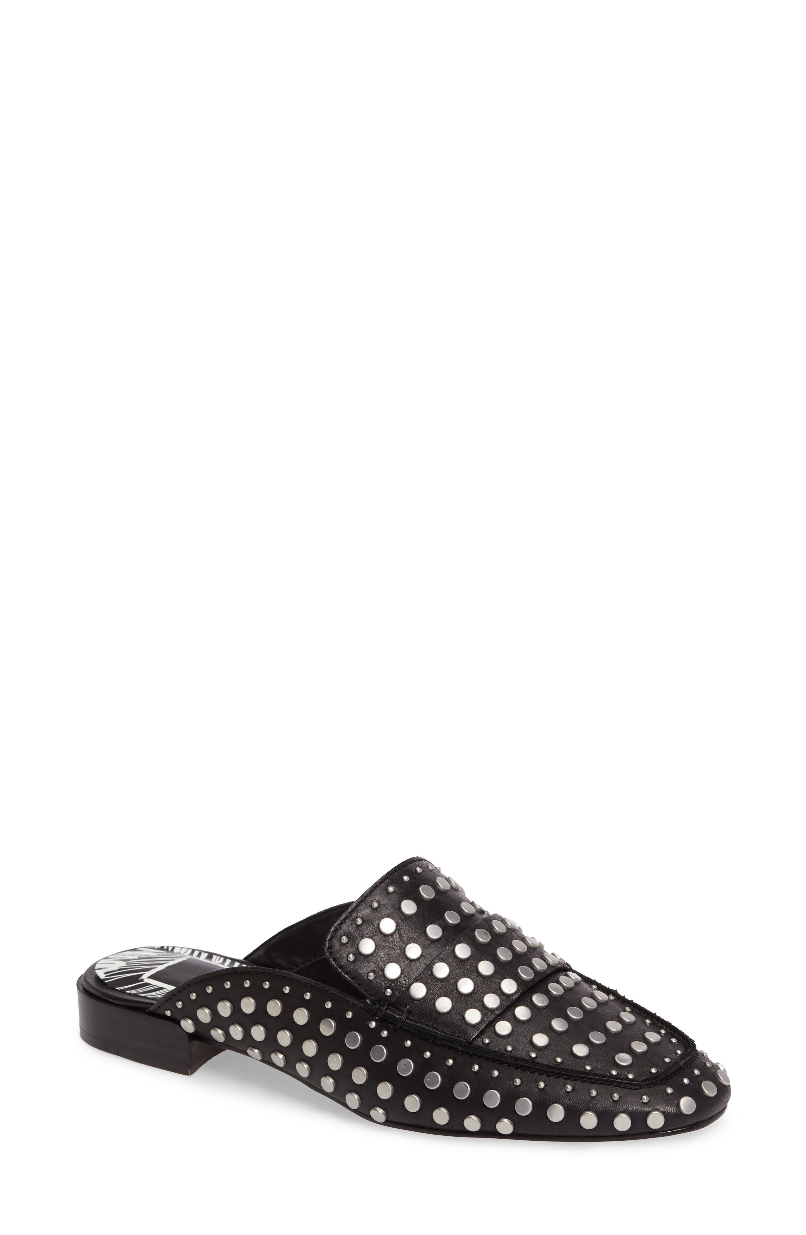 Maura Studded Mule,                         Main,                         color, 001