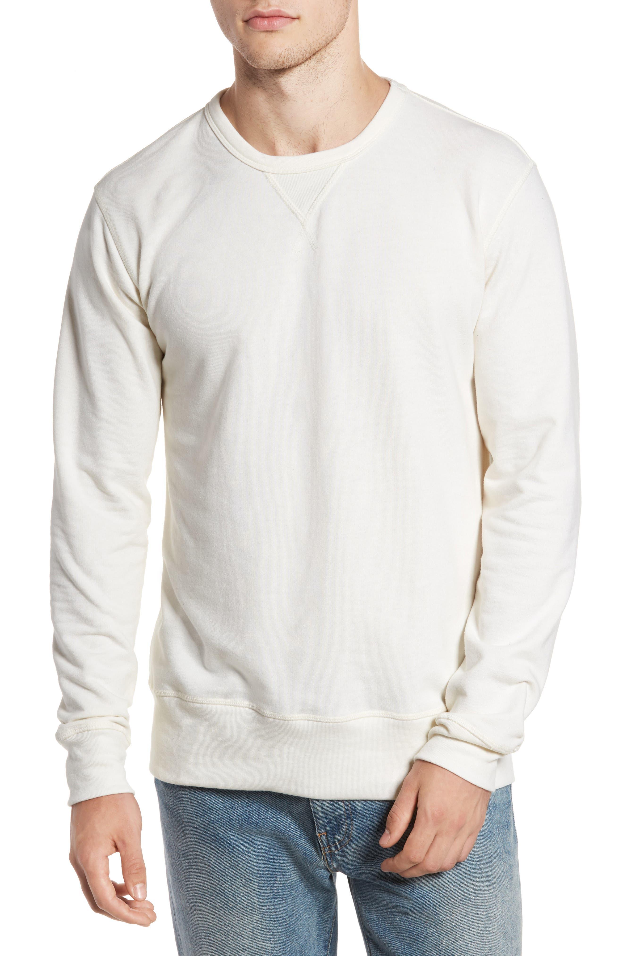 B-Side Reversible Crewneck Sweatshirt,                             Main thumbnail 3, color,