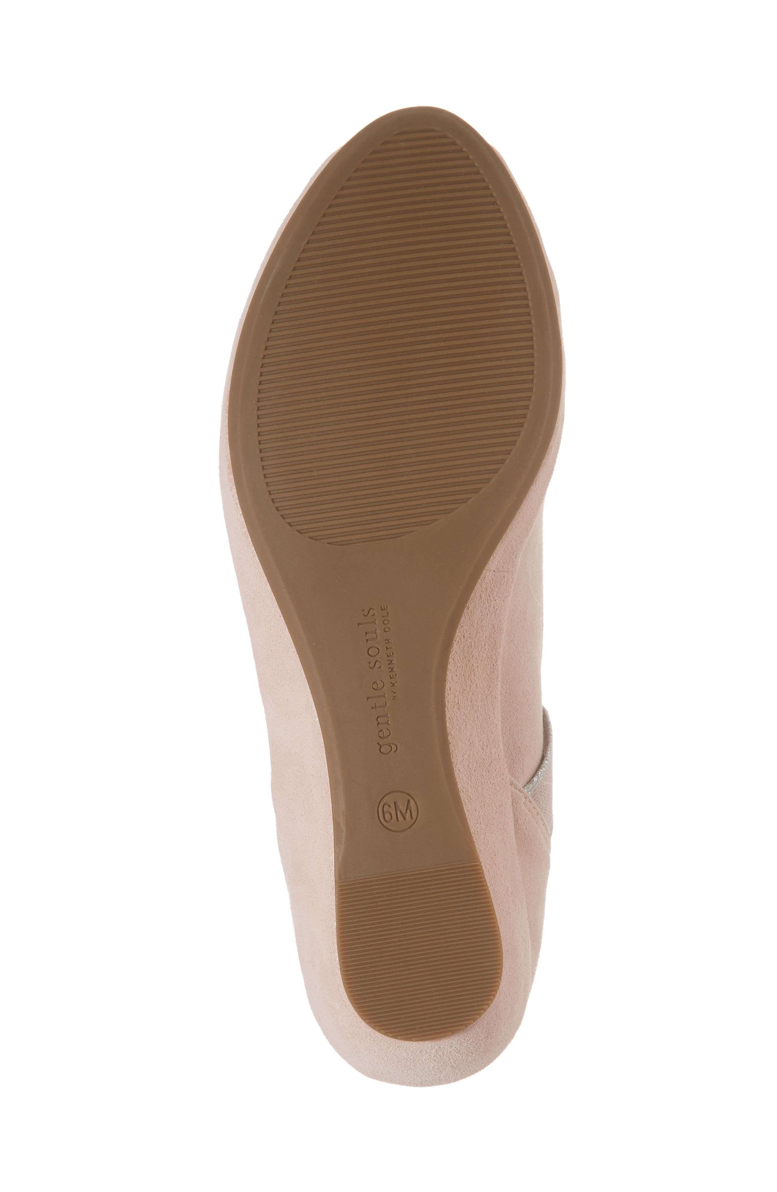 by Kenneth Cole Lisa Wedge Sandal,                             Alternate thumbnail 6, color,                             PEONY SUEDE