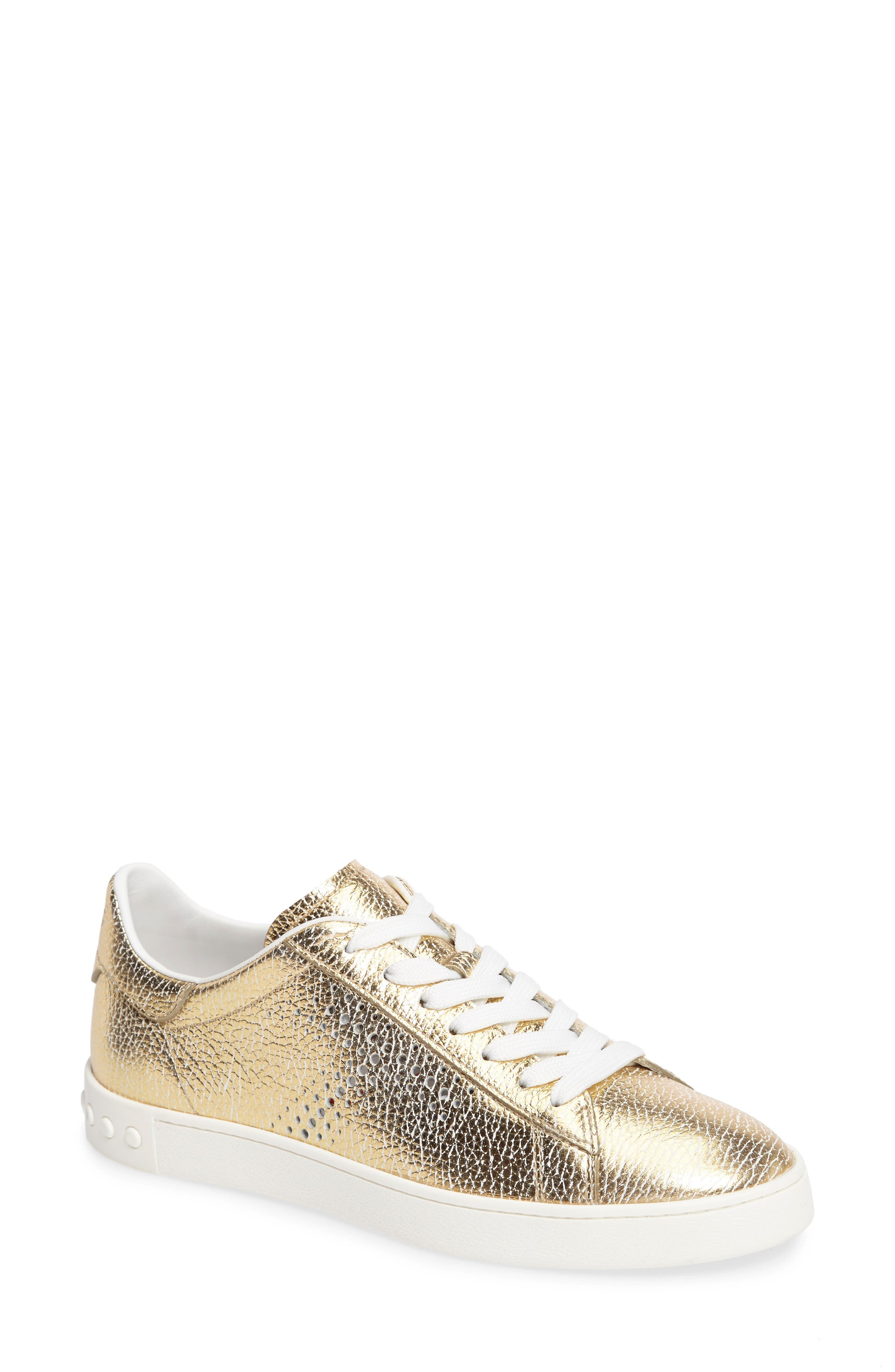 Perforated T Sneaker,                             Main thumbnail 3, color,
