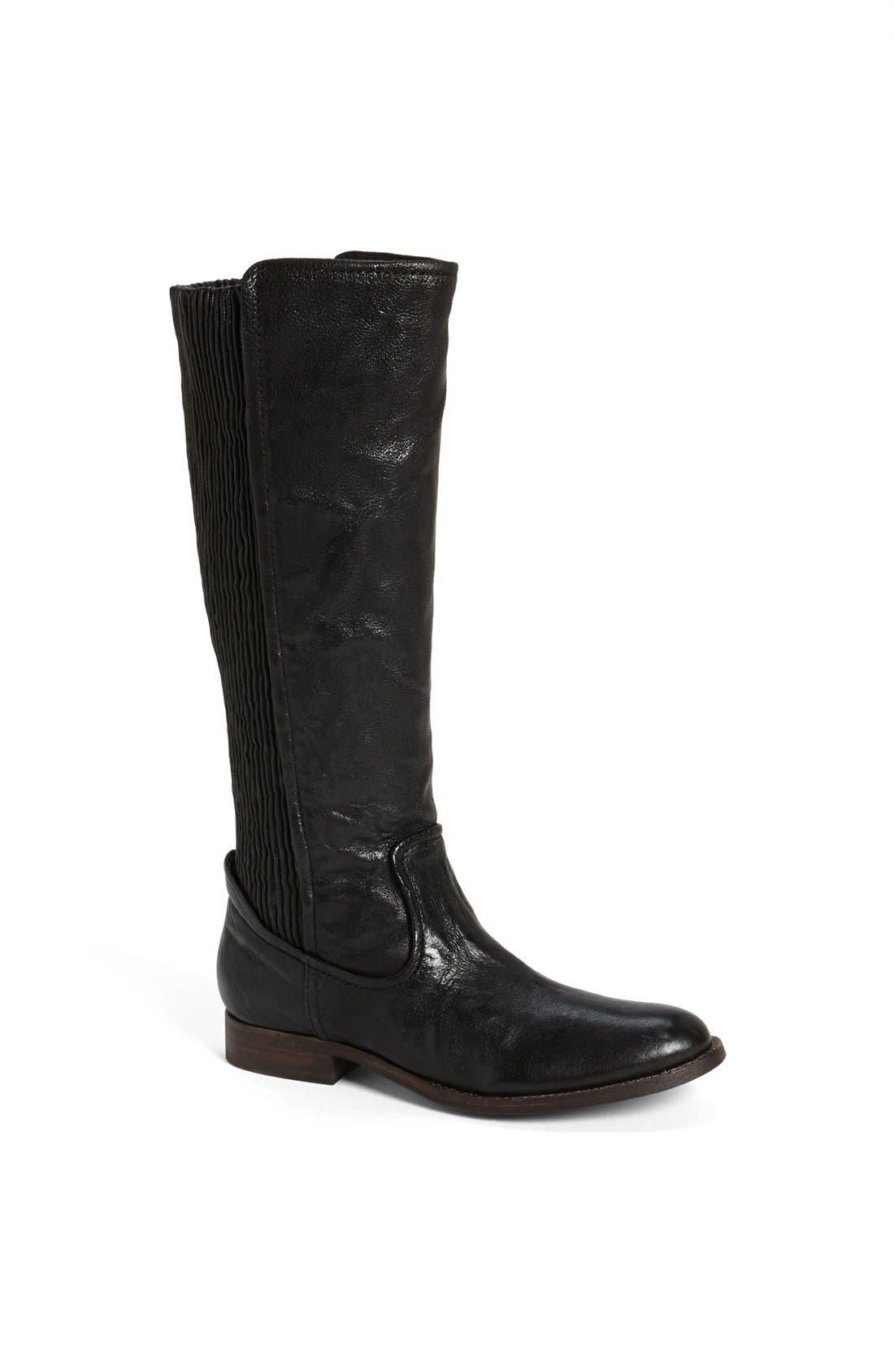 FRYE 'Melissa Scrunch' Boot, Main, color, 001