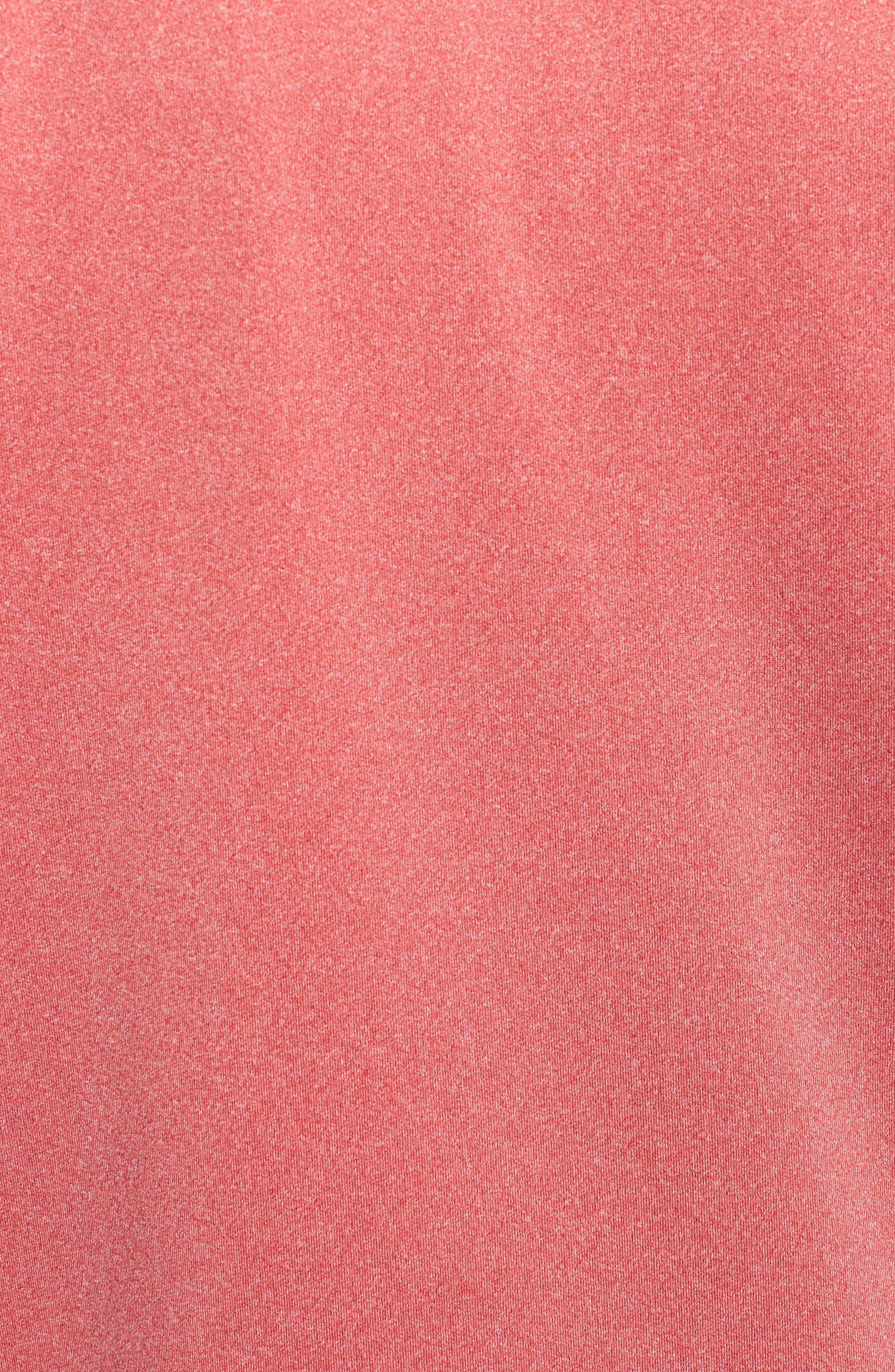 Endurance Arizona Cardinals Regular Fit Pullover,                             Alternate thumbnail 5, color,                             CARDINAL RED HEATHER