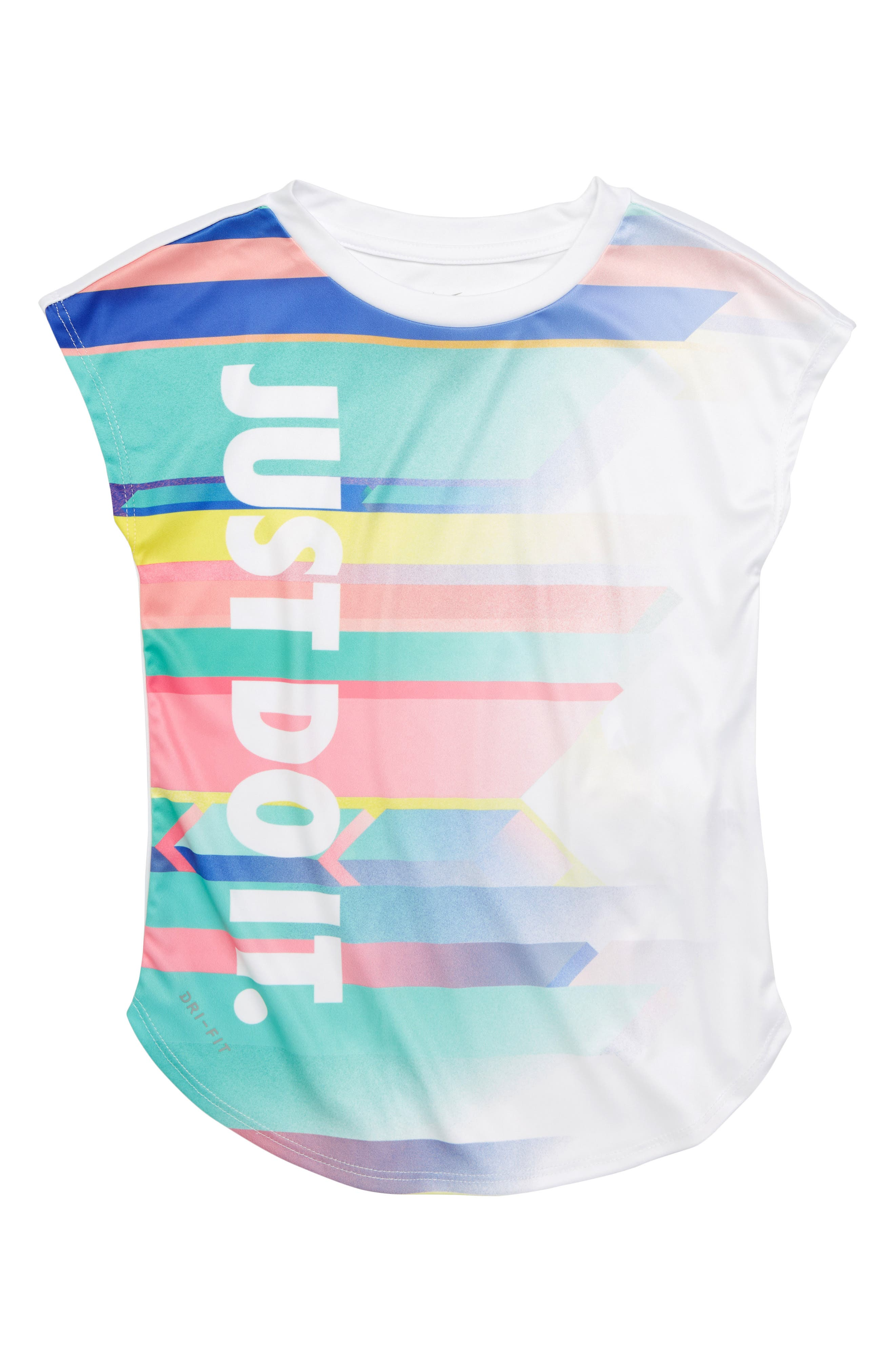 Dry Painted Desert Just Do It Tee,                             Main thumbnail 1, color,                             100