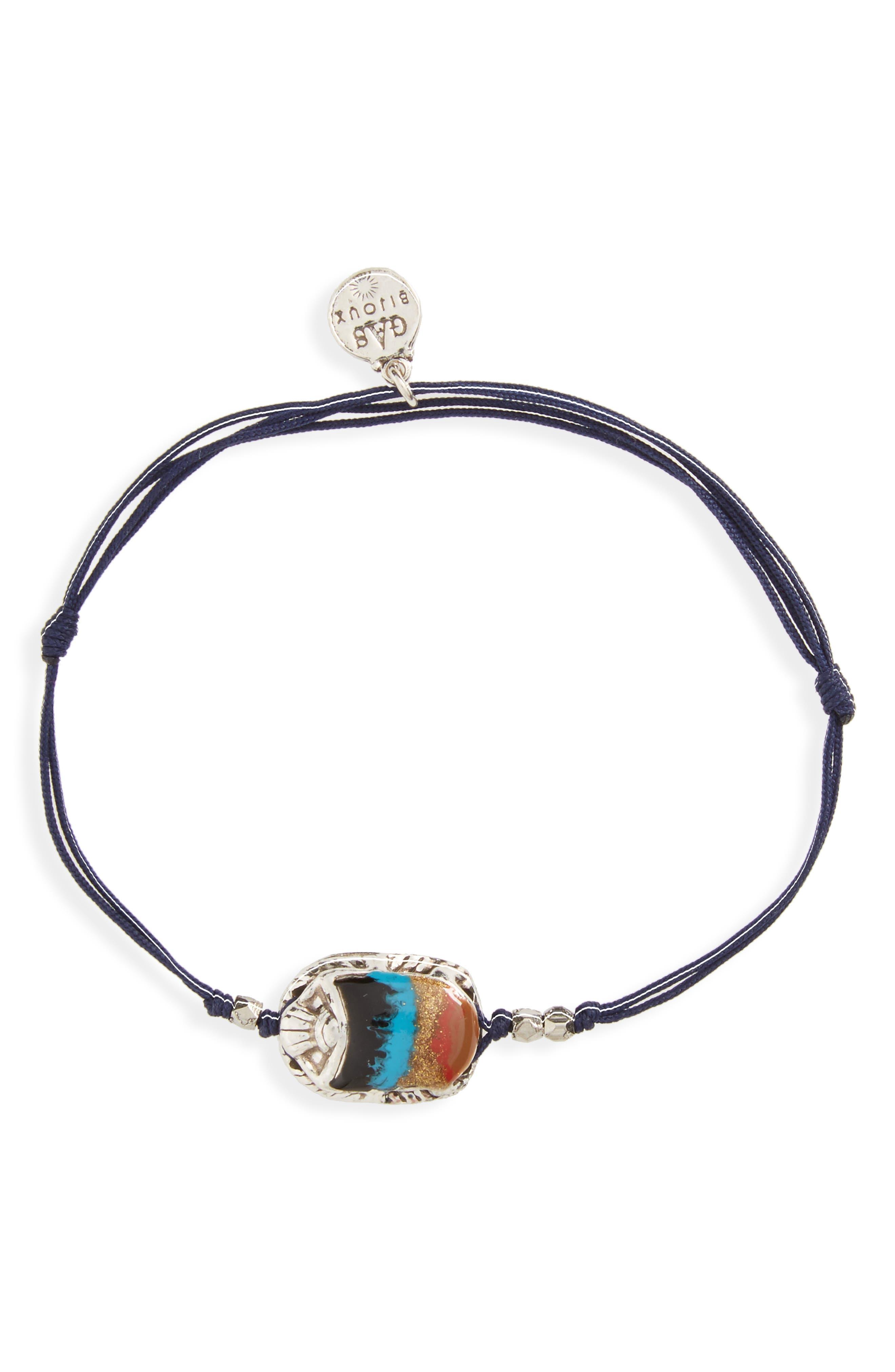 'Scaramouche' String Bracelet,                             Main thumbnail 1, color,