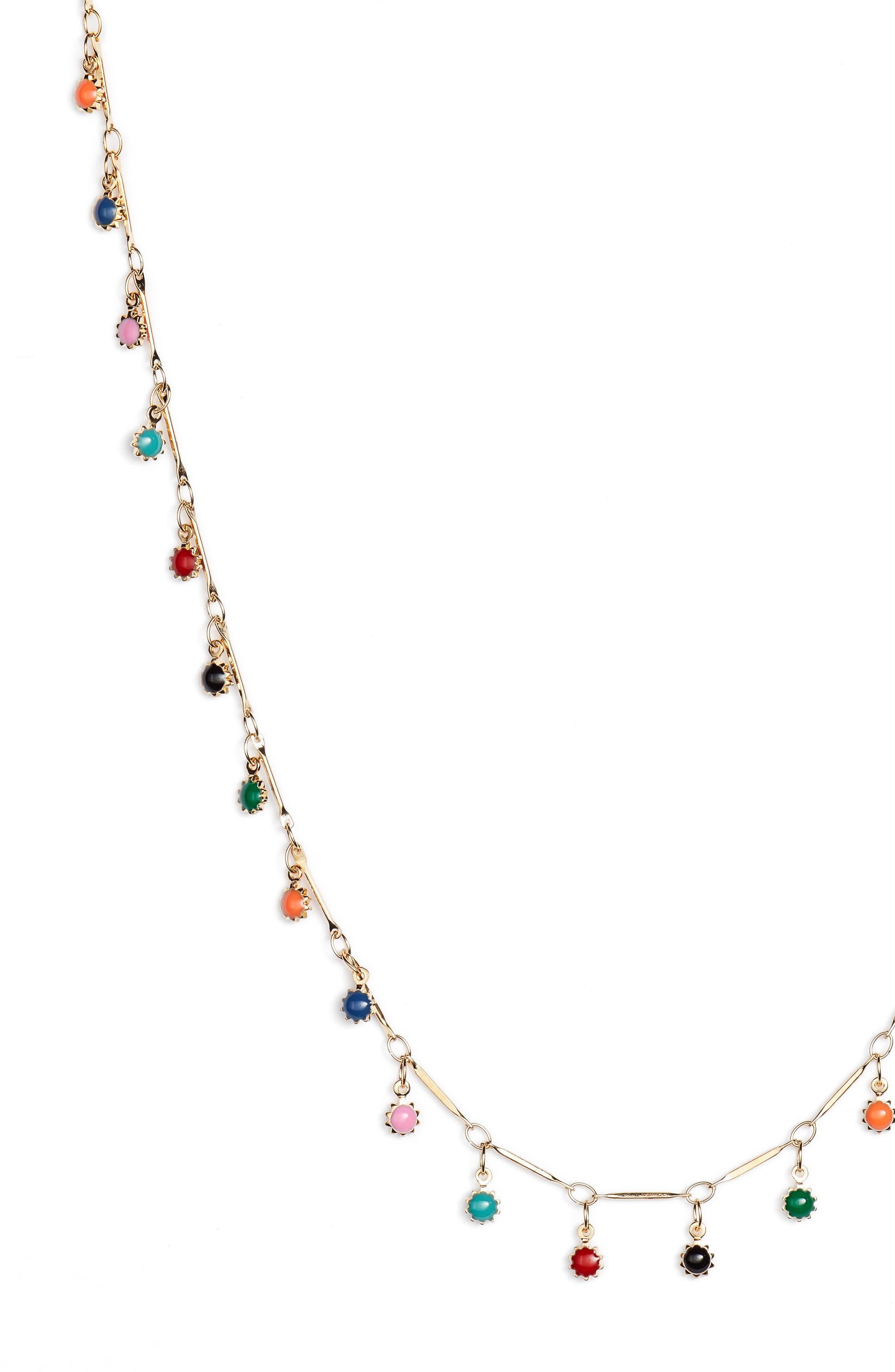 Sagrada Charm Necklace,                             Alternate thumbnail 2, color,