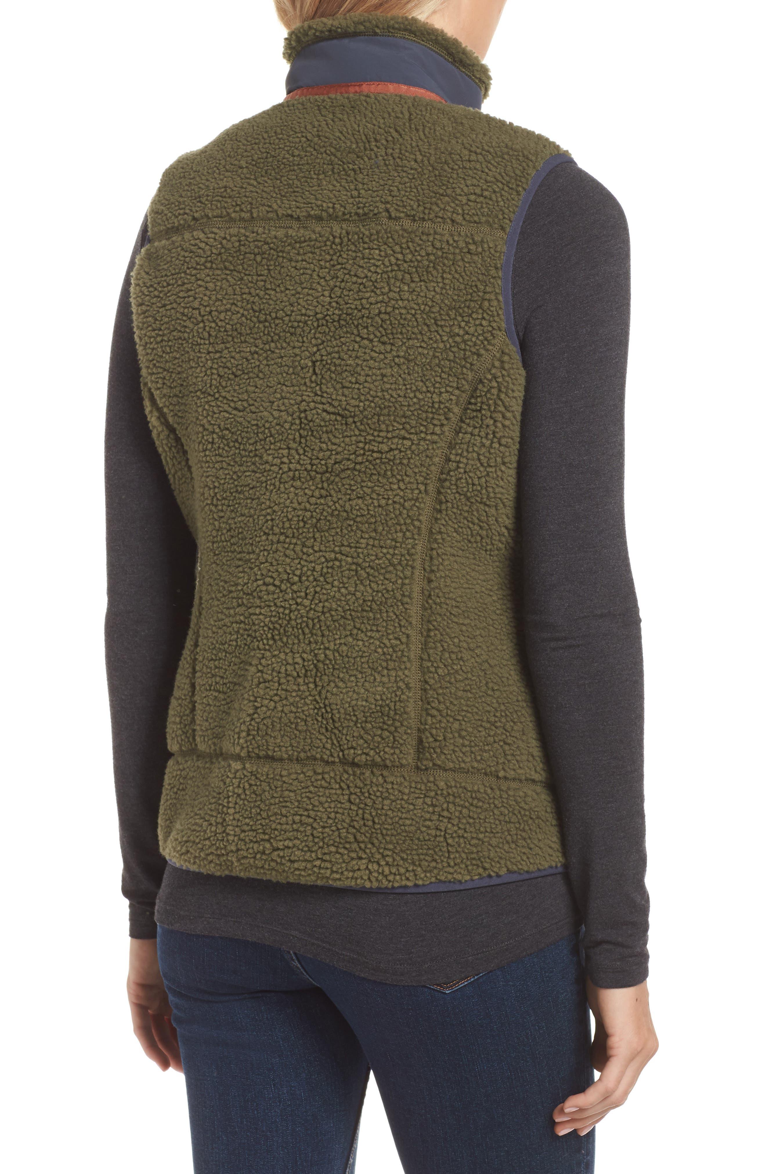 Classic Retro-X<sup>®</sup> Fleece Vest,                             Alternate thumbnail 2, color,                             FATIGUE GREEN
