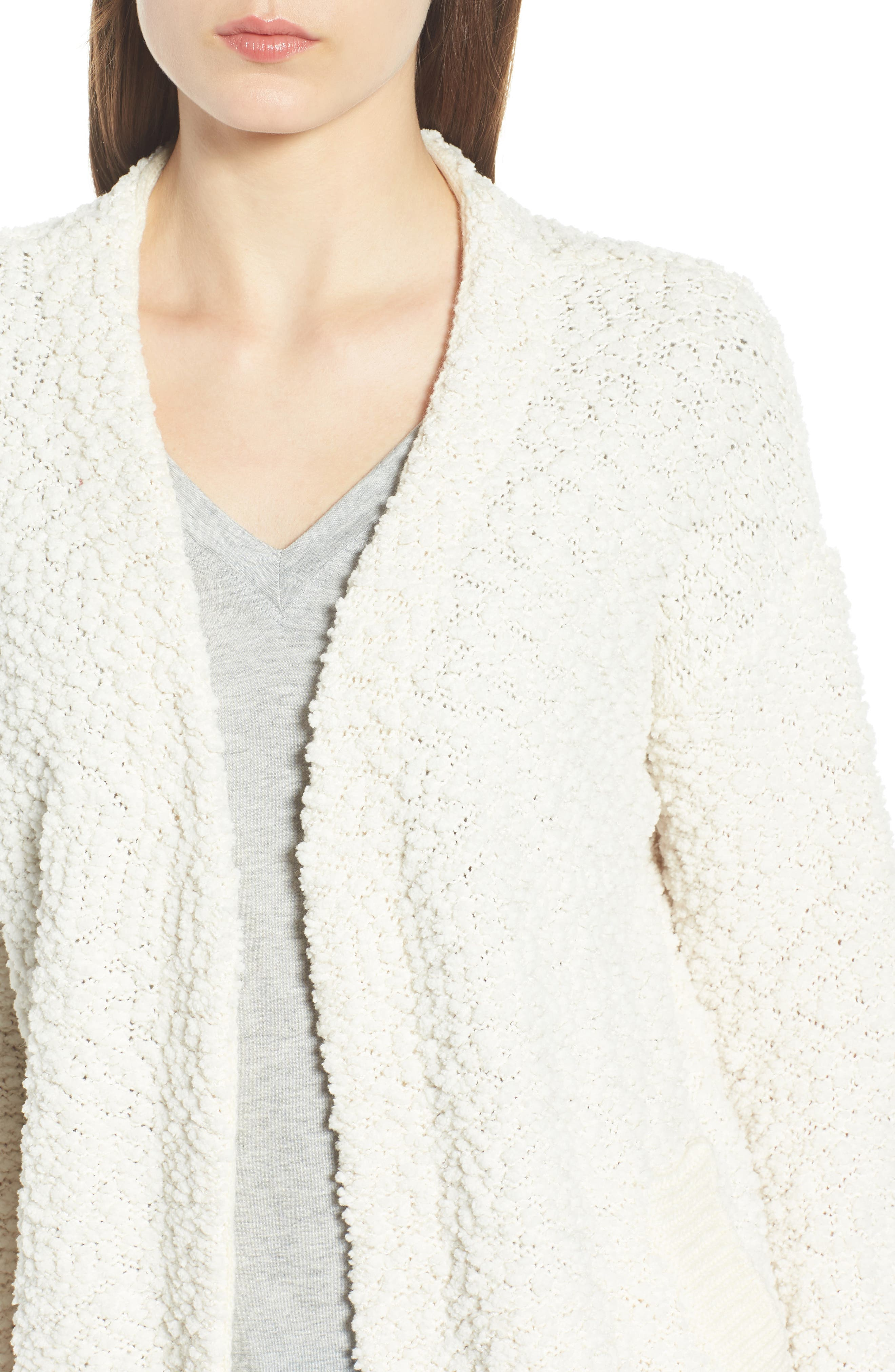 DREAMERS BY DEBUT,                             Nubby Cardigan,                             Alternate thumbnail 4, color,                             900