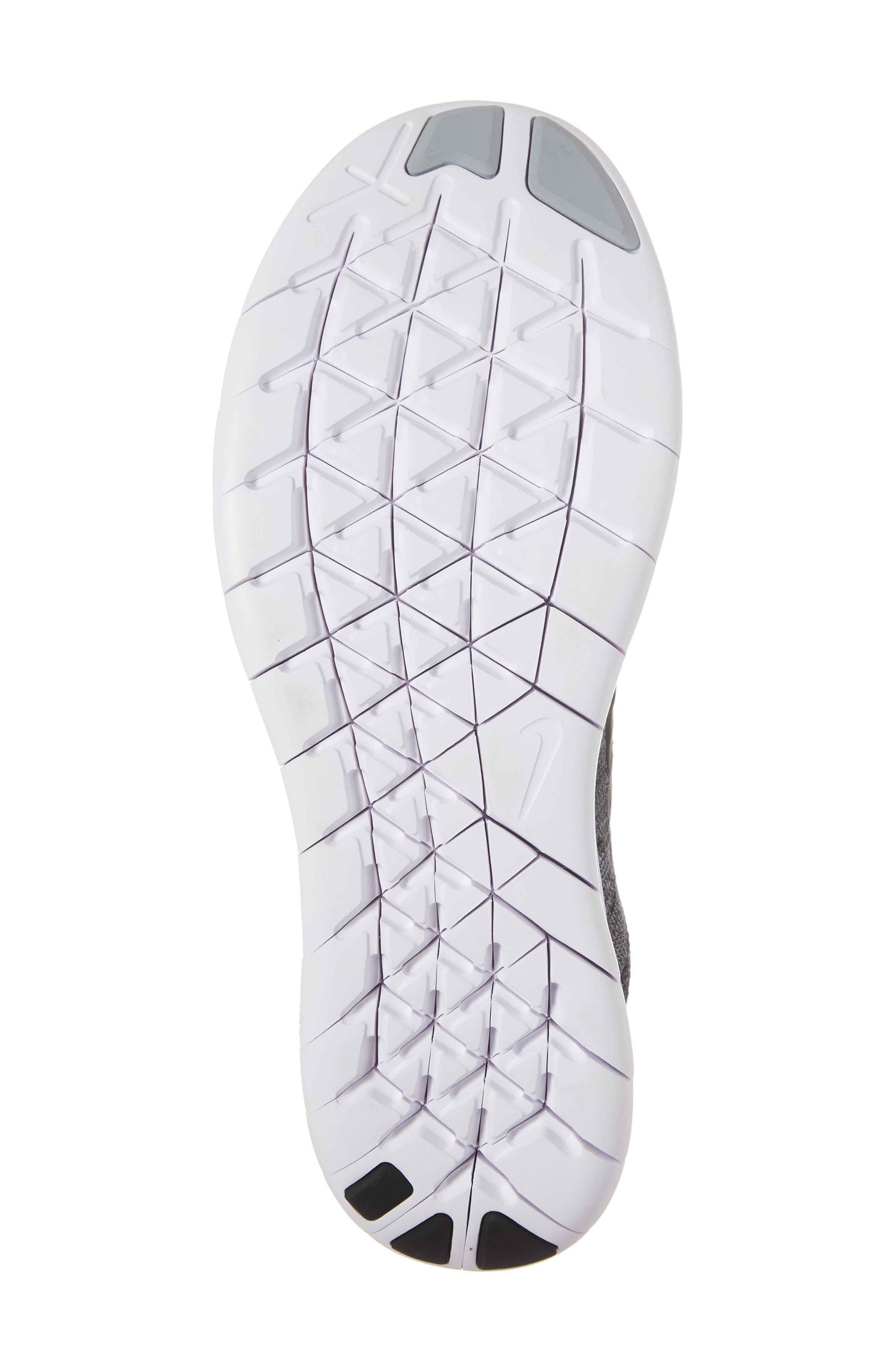 Free RN Flyknit 2 Running Shoe,                             Alternate thumbnail 6, color,                             020