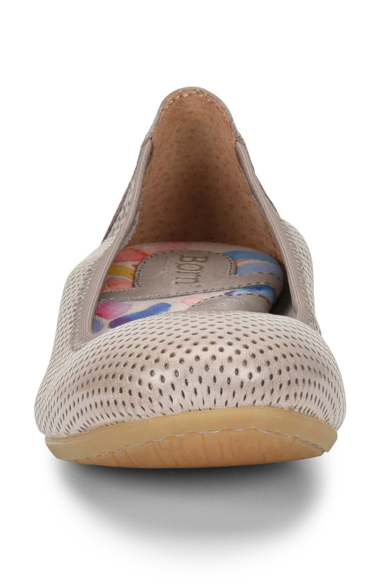 Julianne Perforated Flat,                             Alternate thumbnail 14, color,