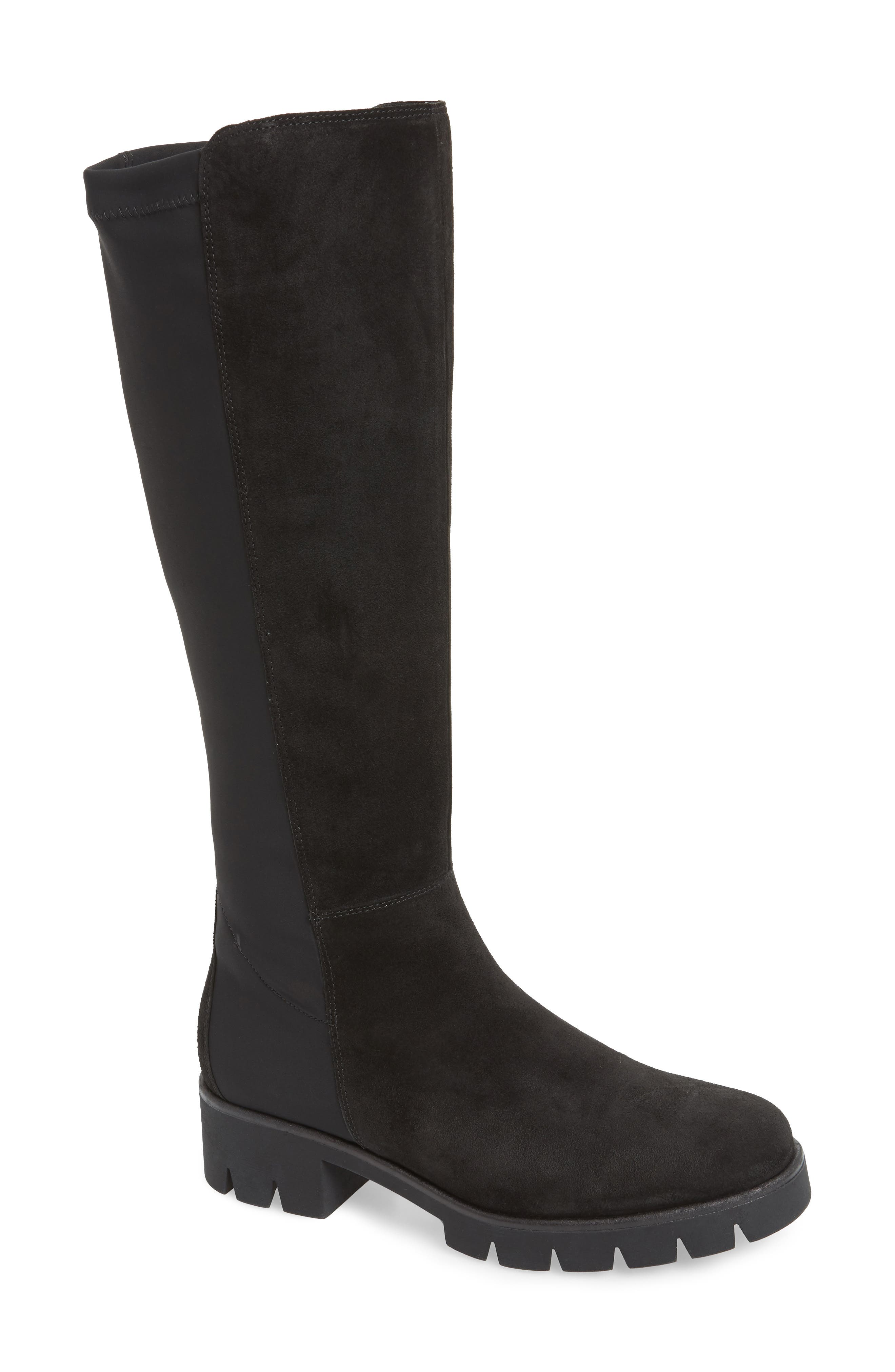 Gabor Ultimate Fashion Comfort Knee High Boot- Black