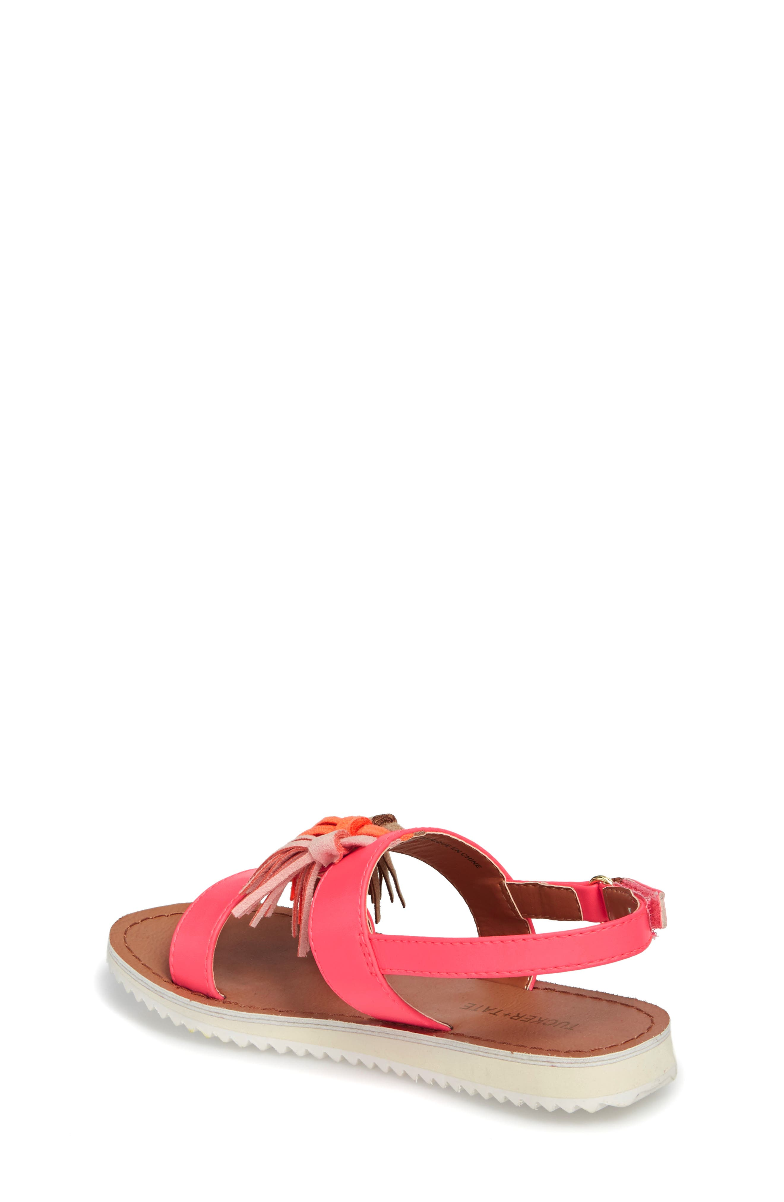 Mari Tasseled Sandal,                             Alternate thumbnail 2, color,                             690