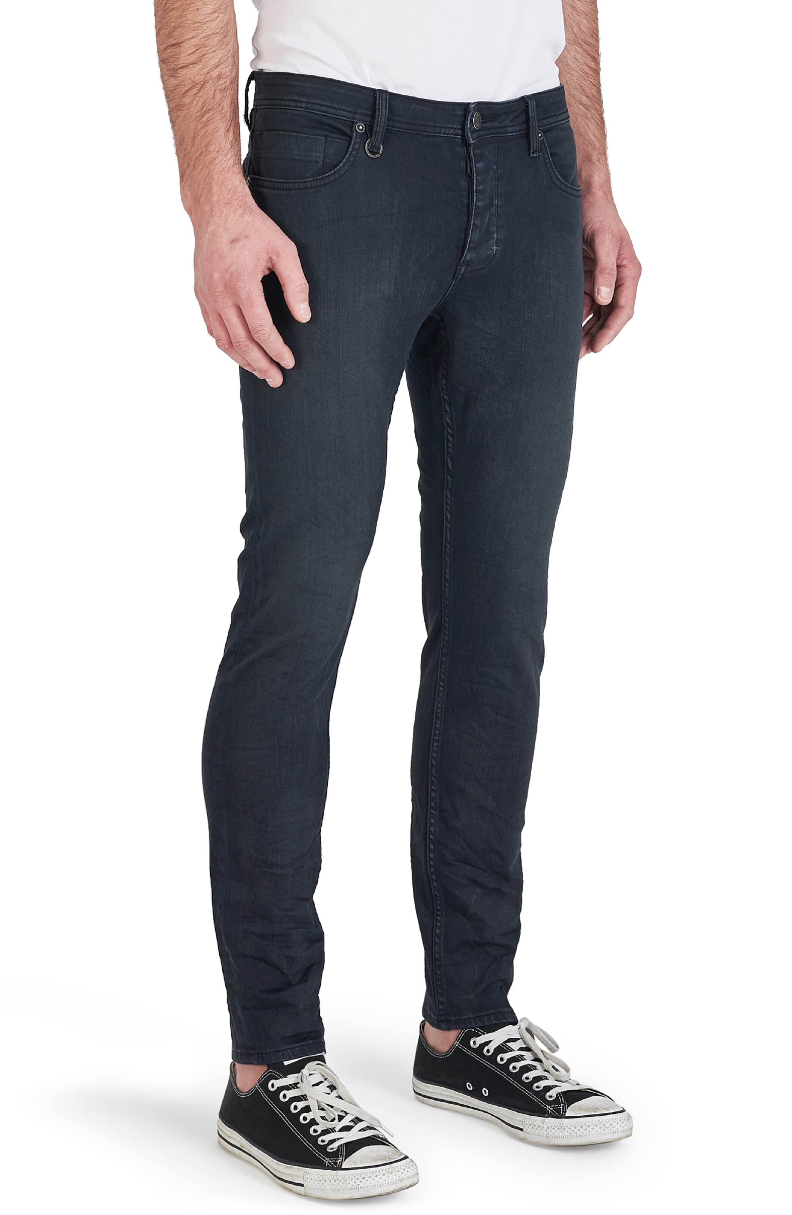 Iggy Skinny Fit Jeans,                             Alternate thumbnail 3, color,                             DUST