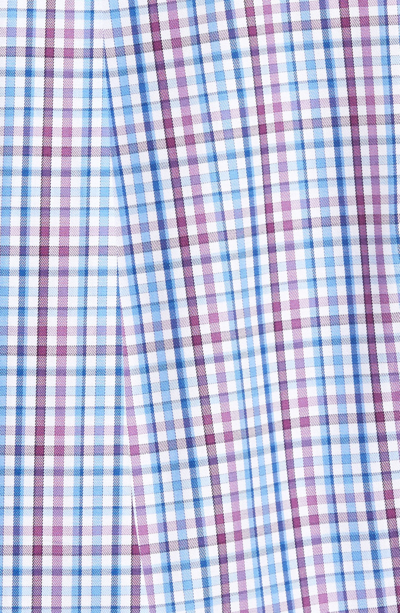 Grand Voyage Regular Fit Tattersall Sport Shirt,                             Alternate thumbnail 5, color,                             430