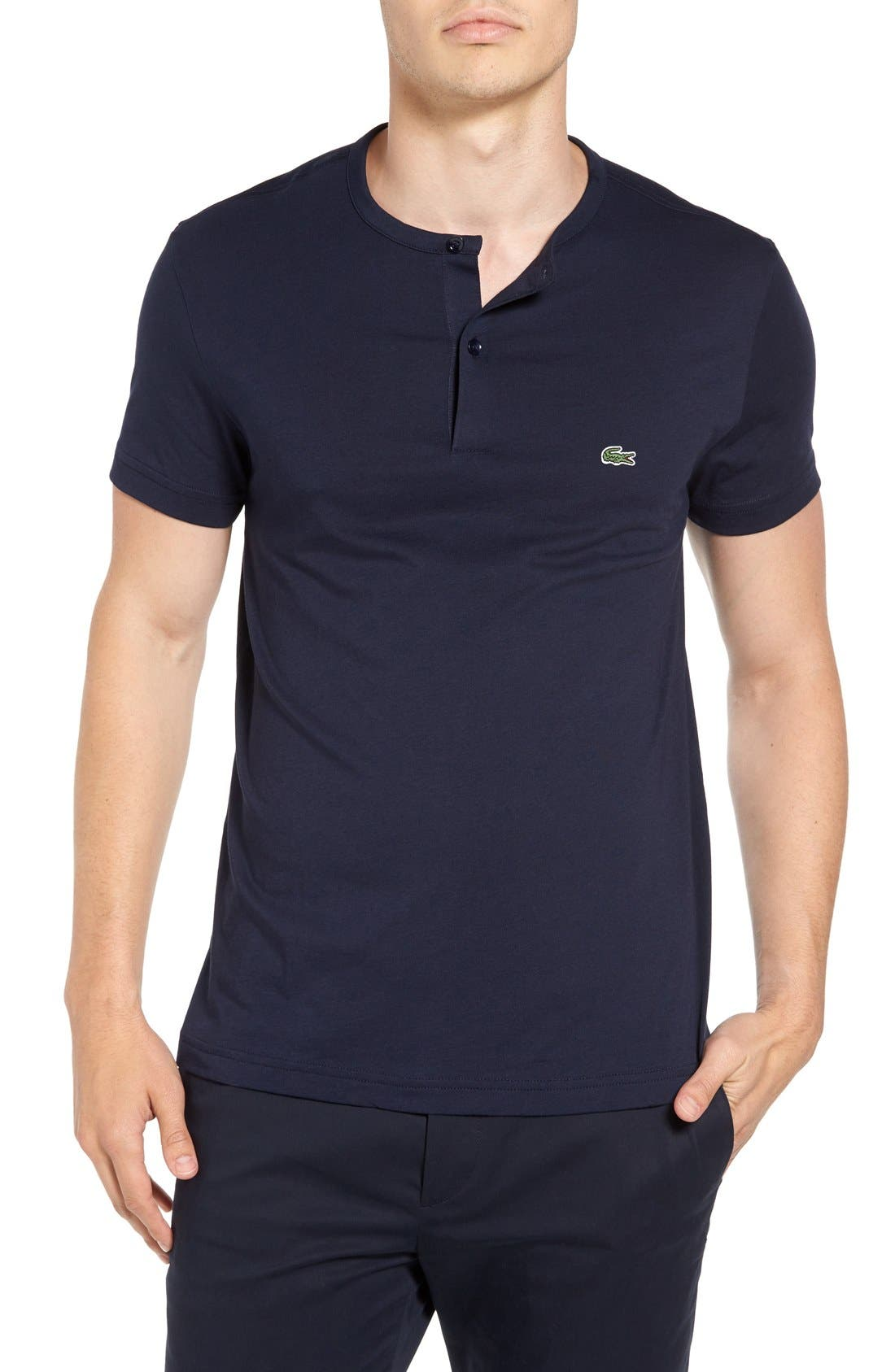 Henley T-Shirt,                             Main thumbnail 4, color,
