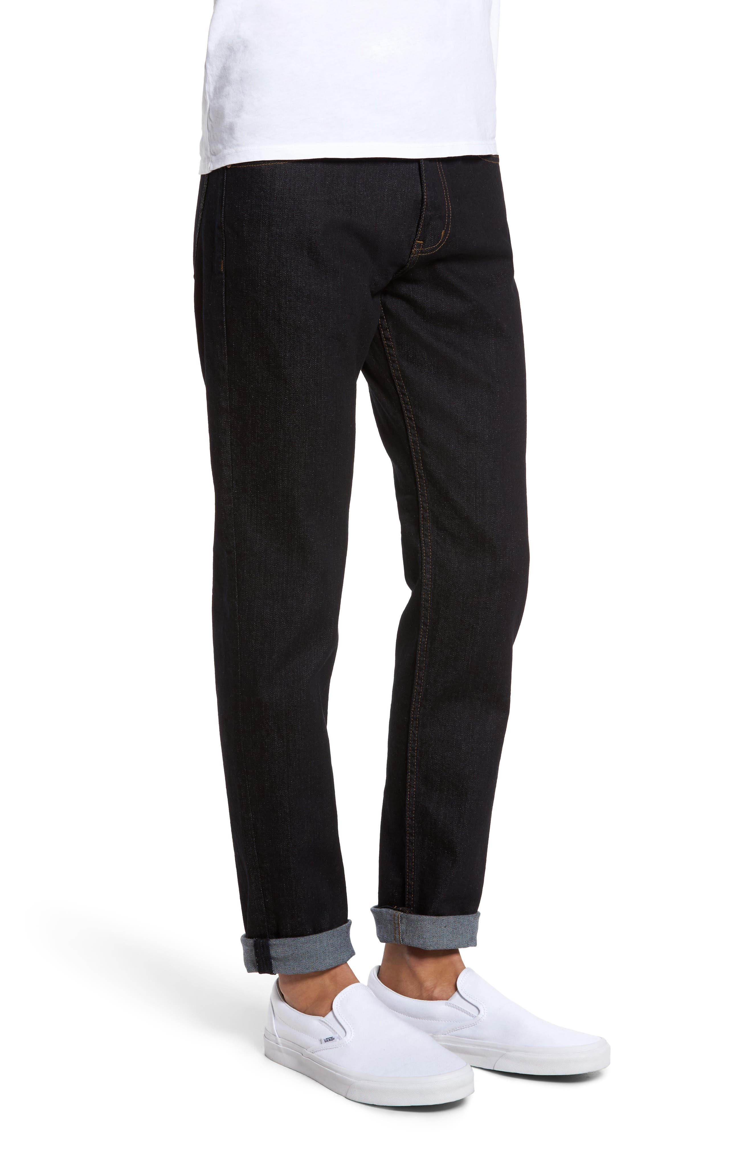 James Relaxed Fit Jeans,                             Alternate thumbnail 3, color,                             400