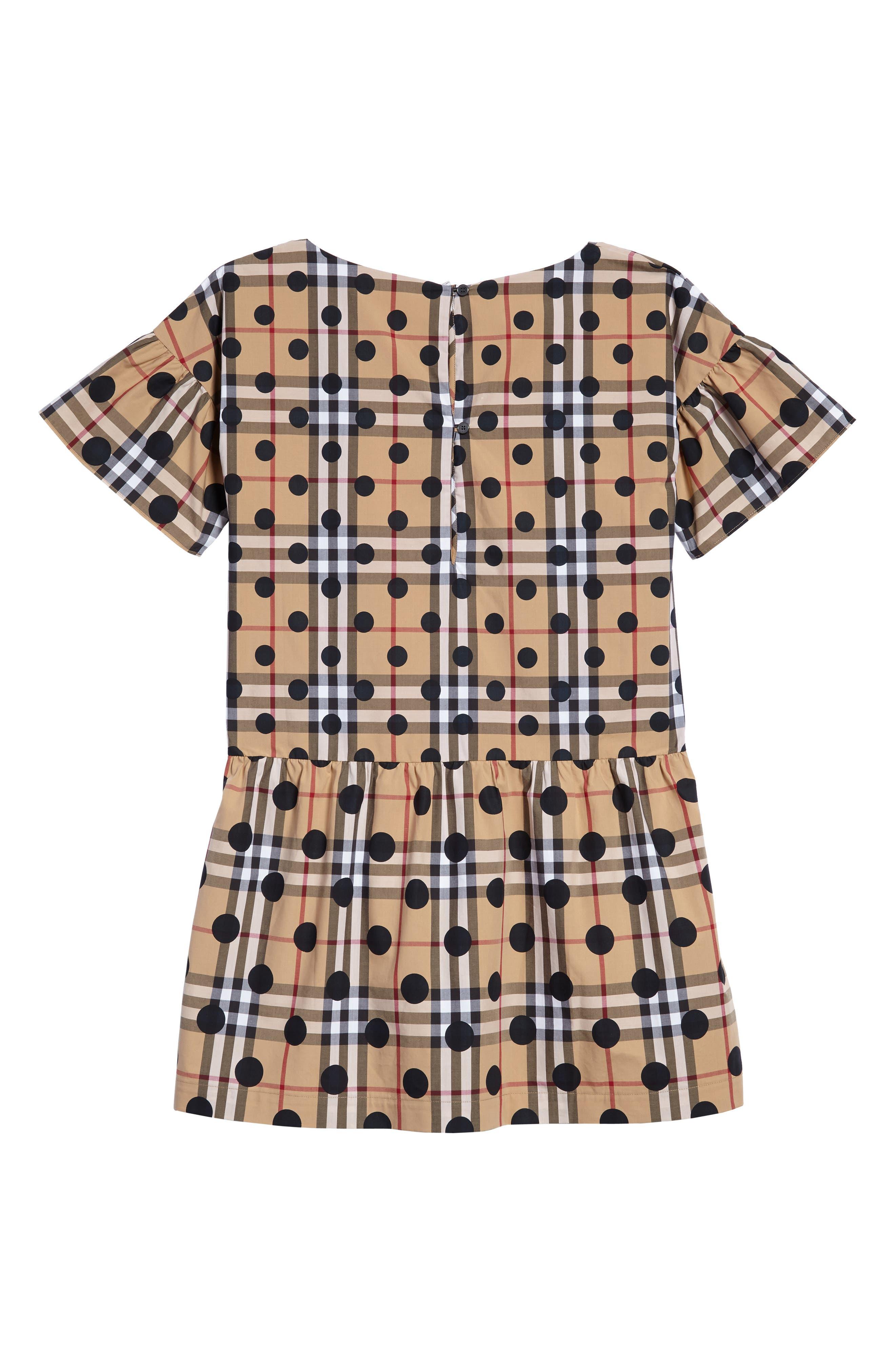 Anabella Drop Waist Dress,                             Alternate thumbnail 2, color,                             410