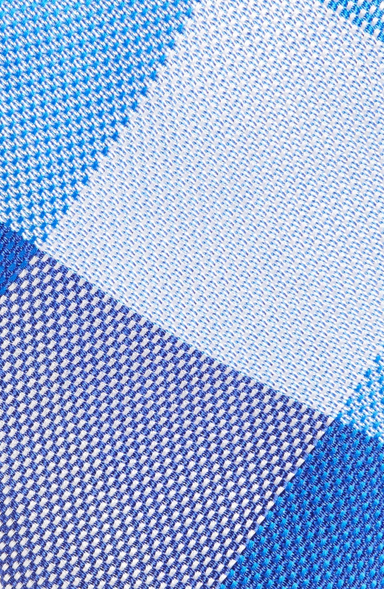 Plaid Silk Tie,                             Alternate thumbnail 2, color,                             400