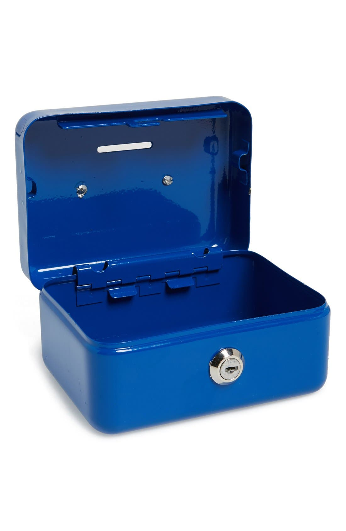 Powder Coated Steel Cash Box,                             Alternate thumbnail 2, color,                             400