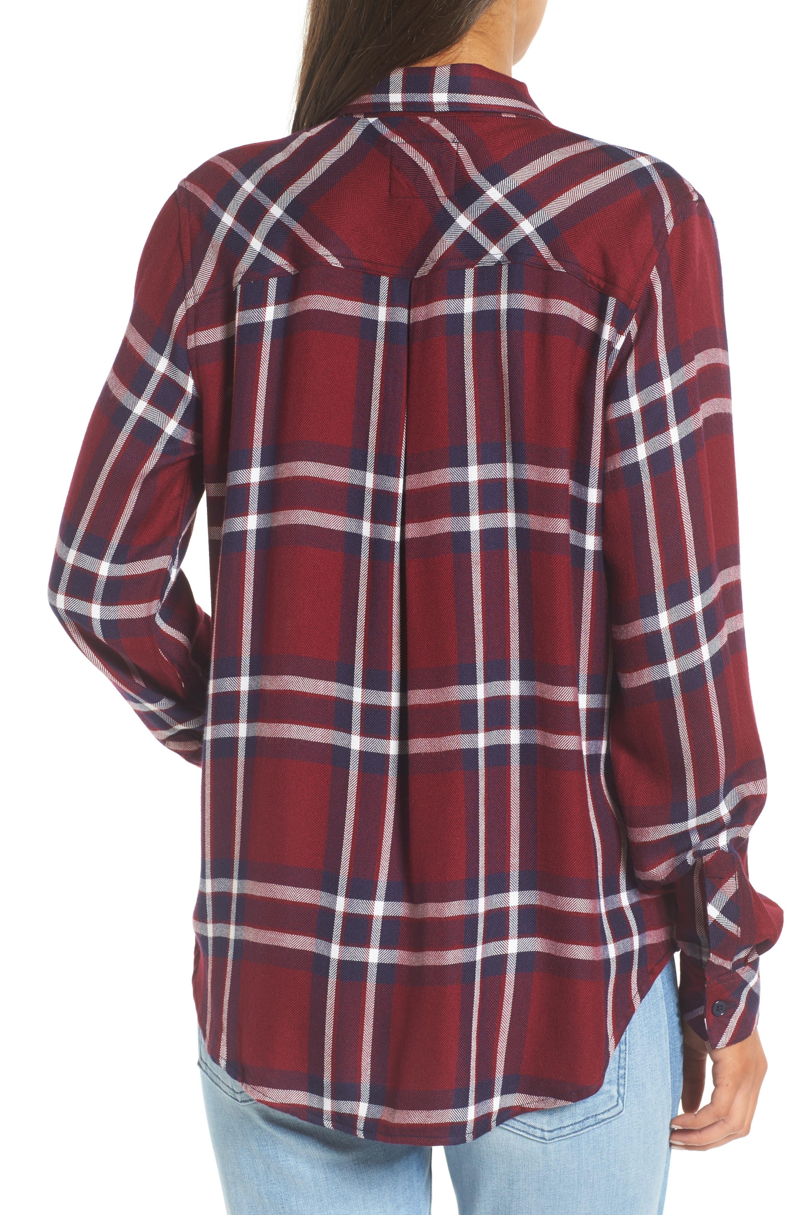 Hunter Plaid Shirt,                             Alternate thumbnail 272, color,