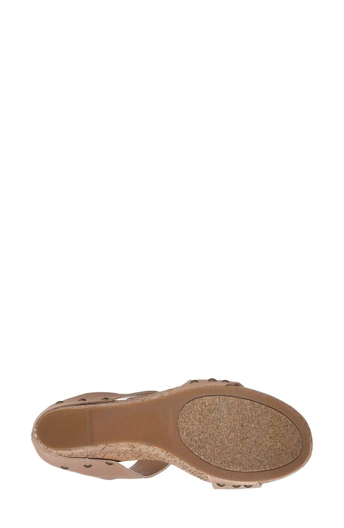 'Emilia 2' Wedge Sandal,                             Alternate thumbnail 9, color,