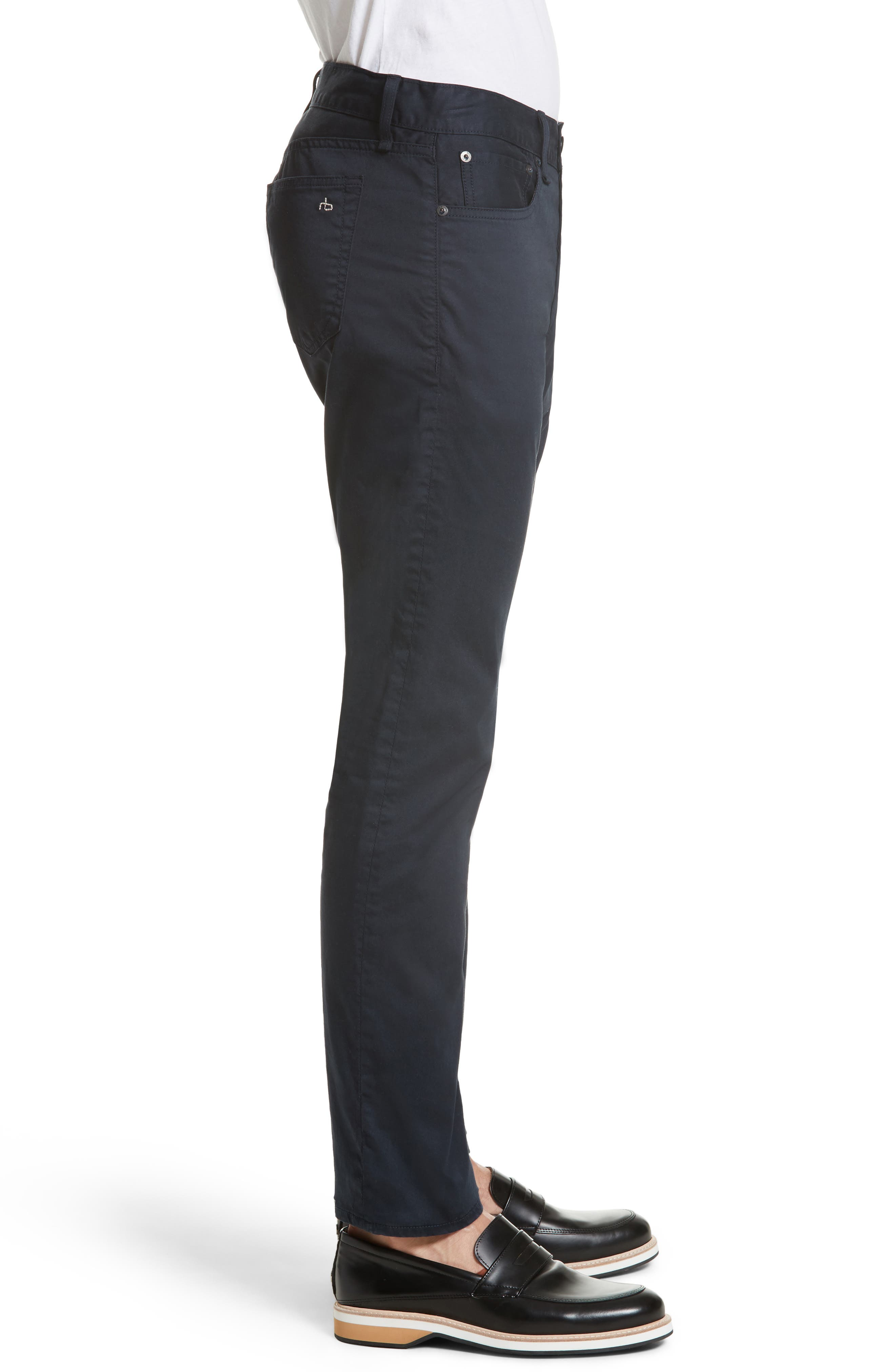 Fit 2 Five-Pocket Twill Pants,                             Alternate thumbnail 3, color,                             410