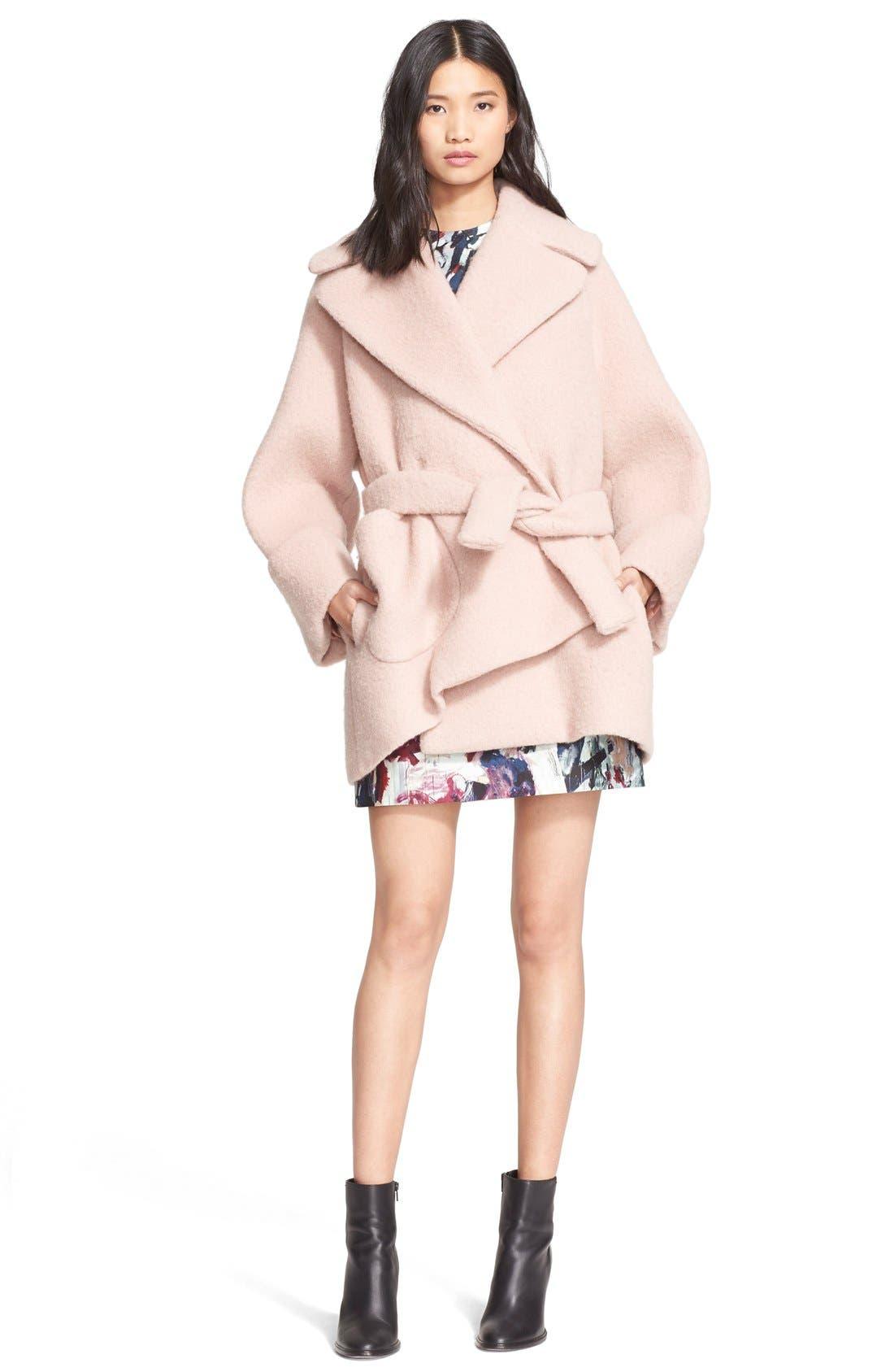 Oversize Cocoon Coat,                         Main,                         color, 670