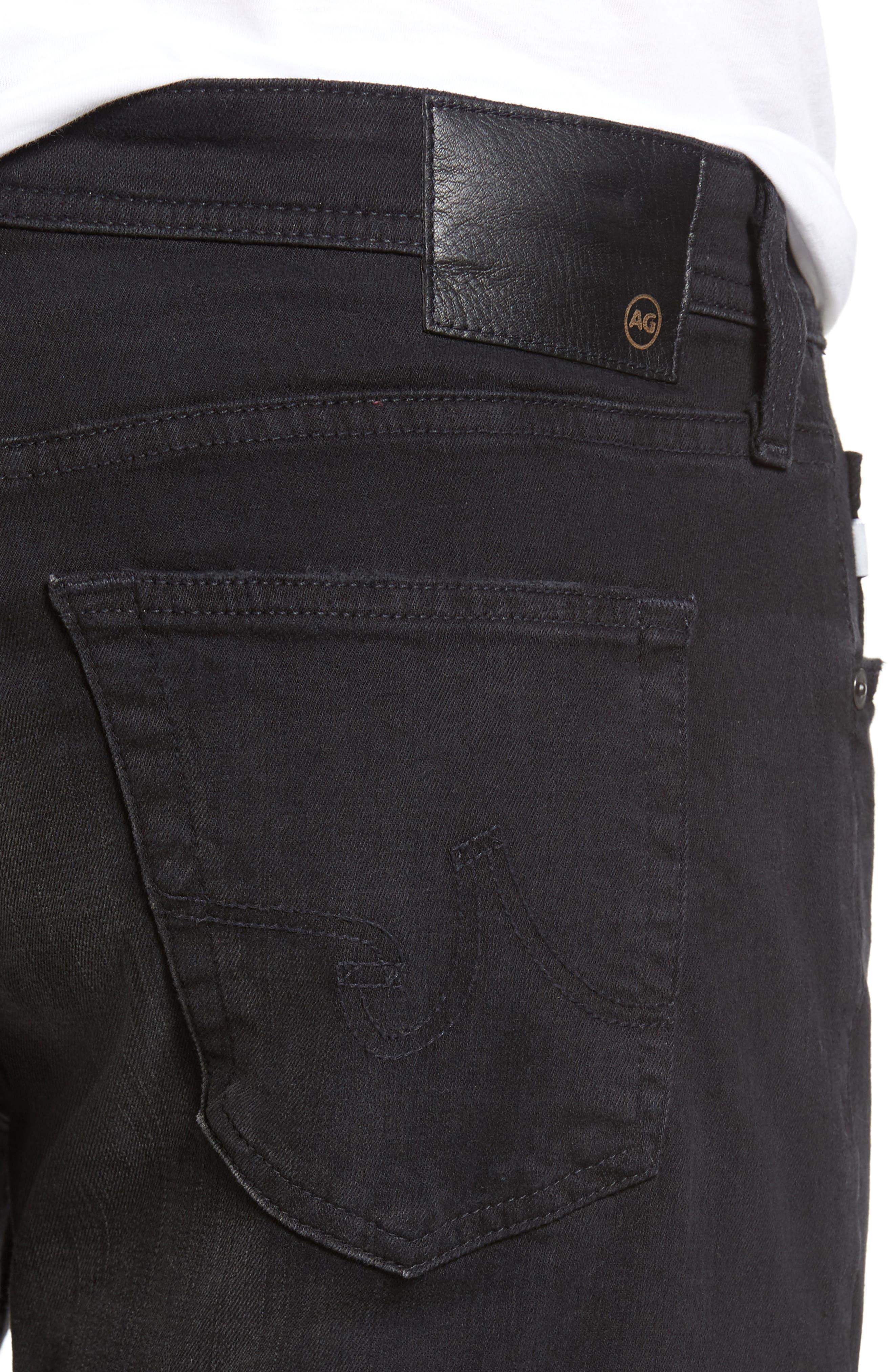 Graduate Slim Straight Leg Jeans,                             Alternate thumbnail 4, color,                             415