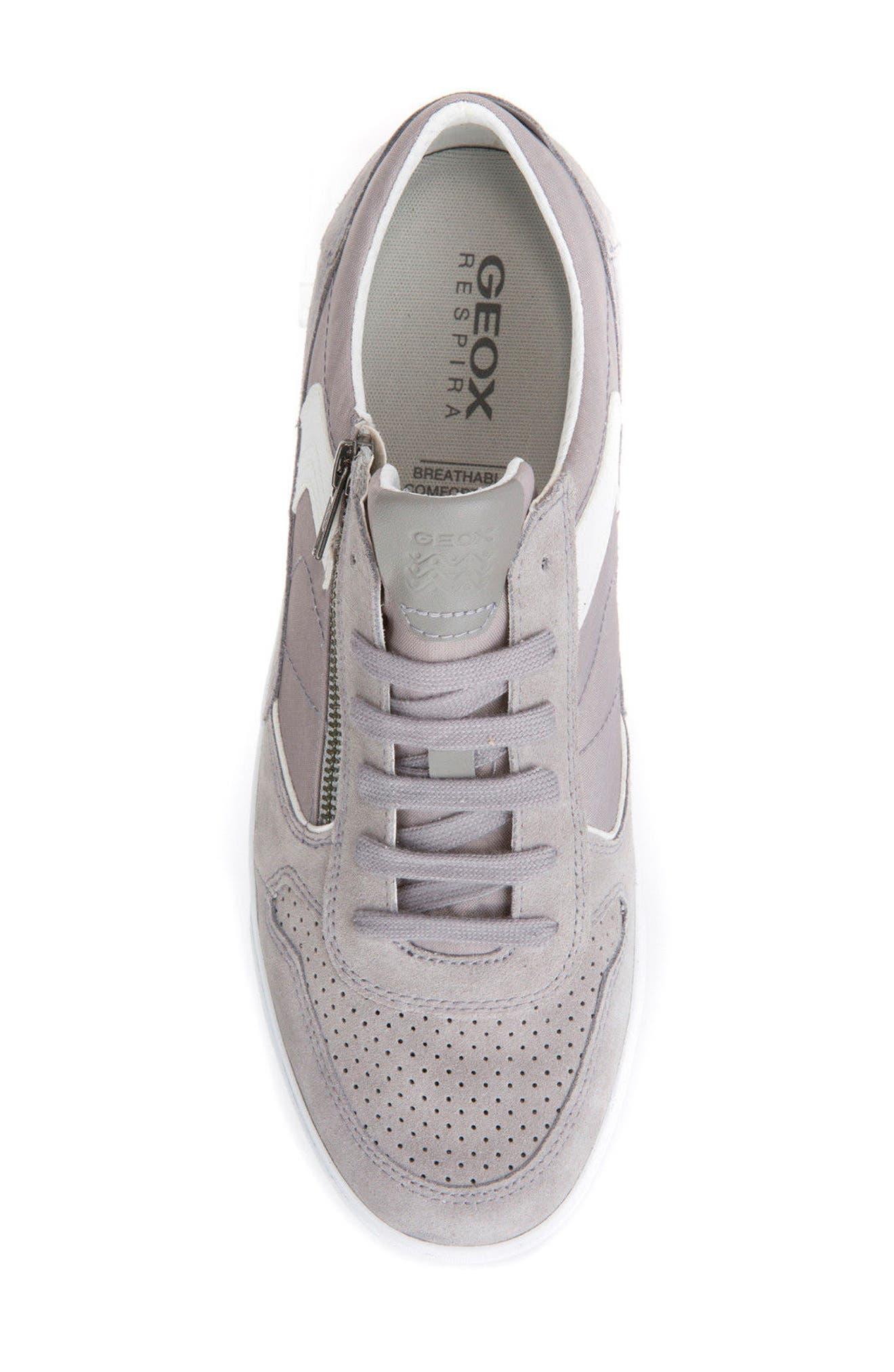 Box 33 Low Top Zip Sneaker,                             Alternate thumbnail 5, color,                             030