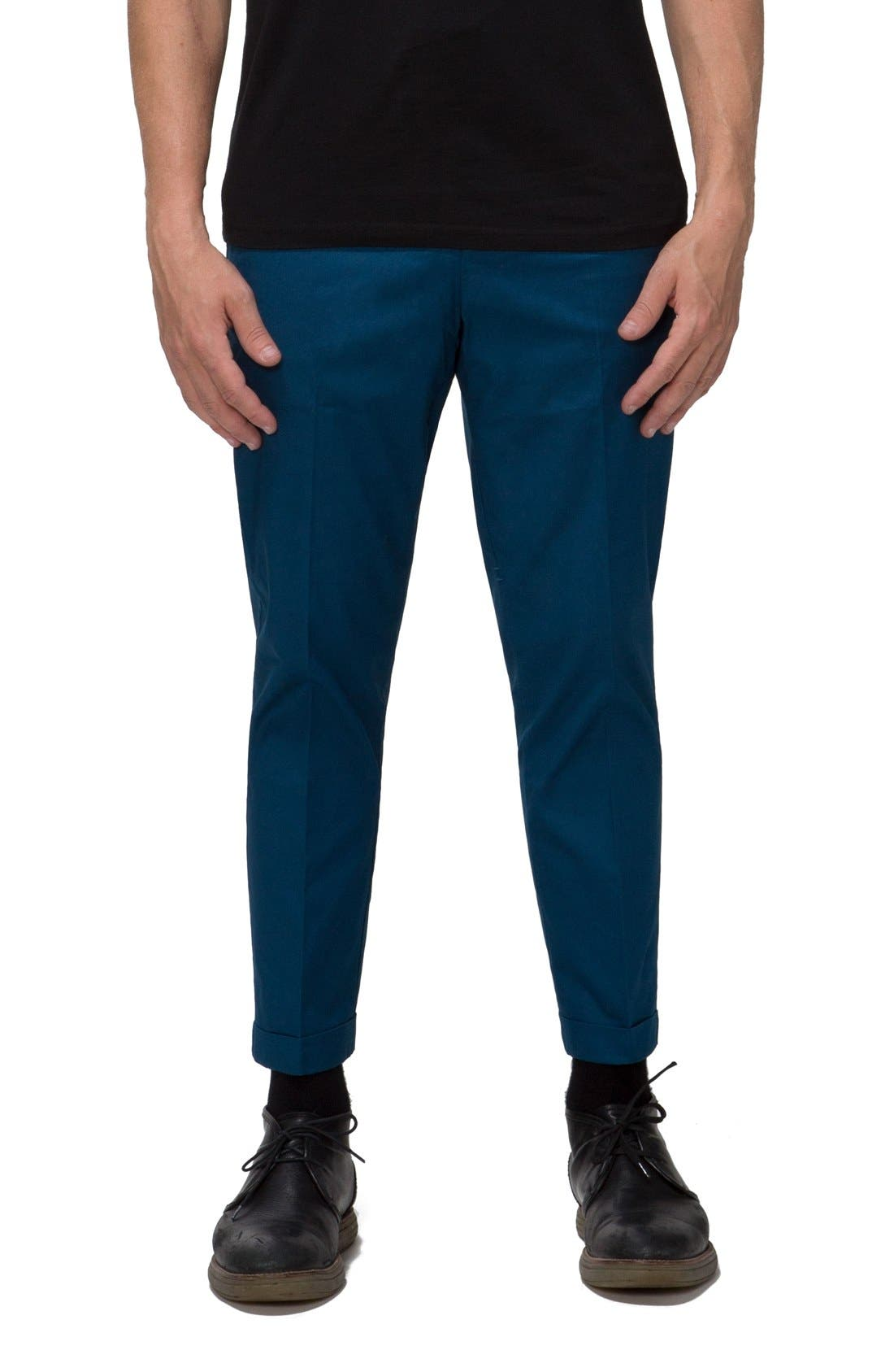 'Arroyo' Crop Stretch Chinos,                             Main thumbnail 5, color,