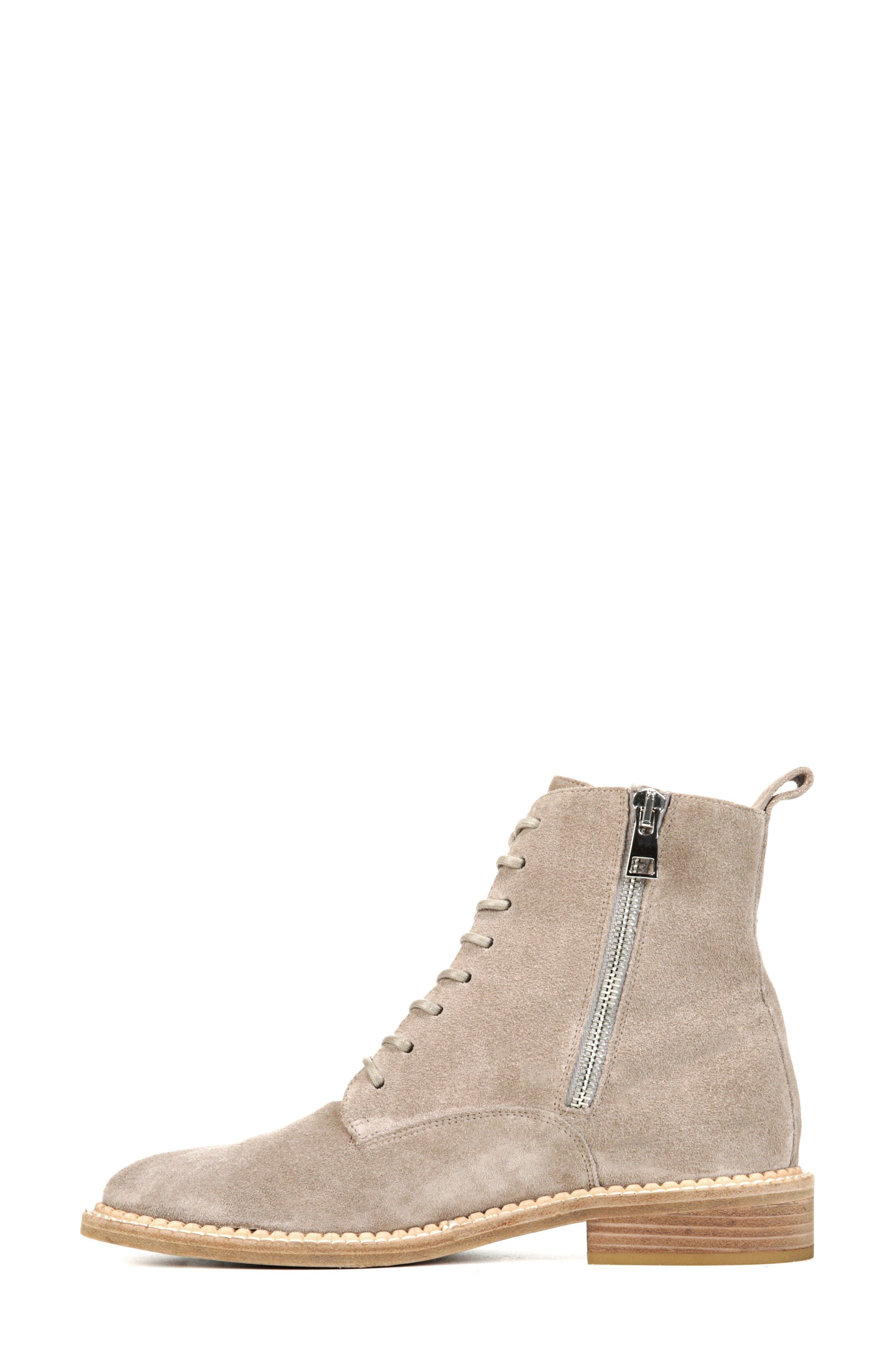 Cabria Lace-Up Boot,                             Alternate thumbnail 3, color,                             LIGHT WOODSMOKE