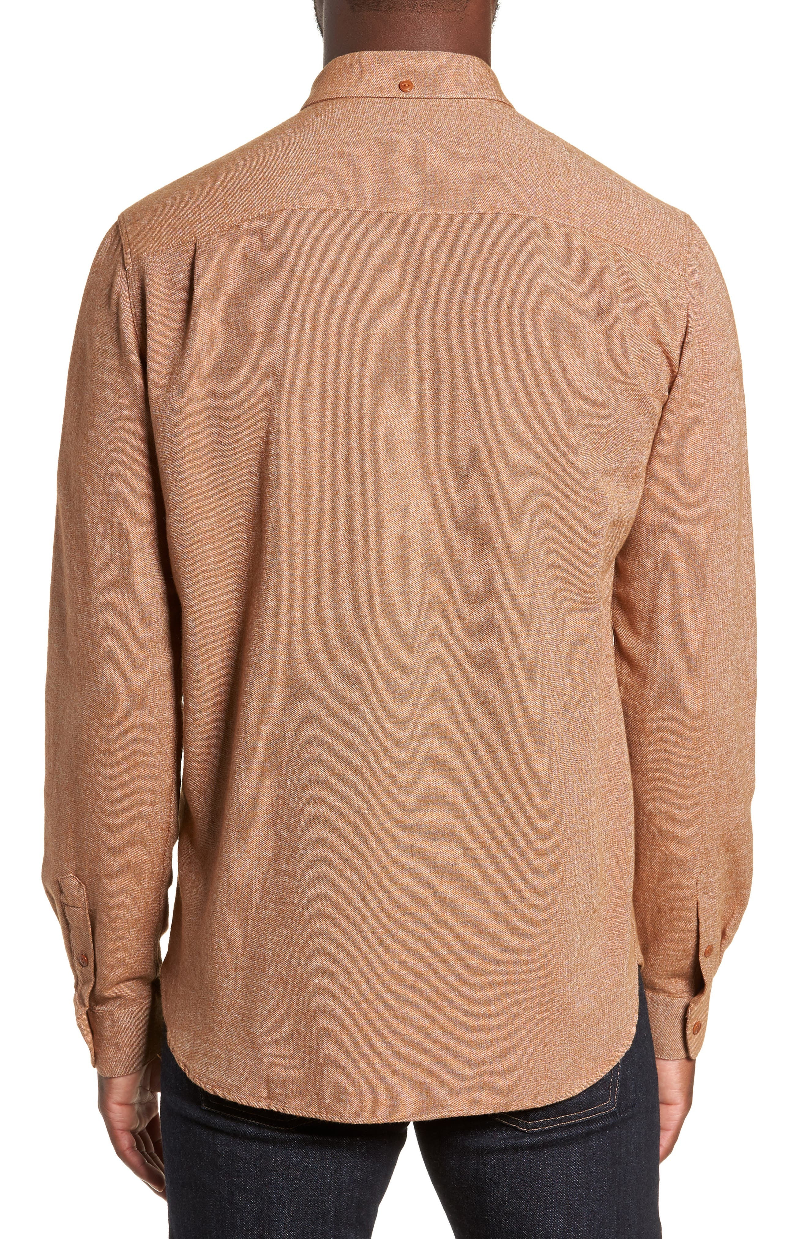 Dean Regular Fit Chambray Shirt,                             Alternate thumbnail 3, color,                             200