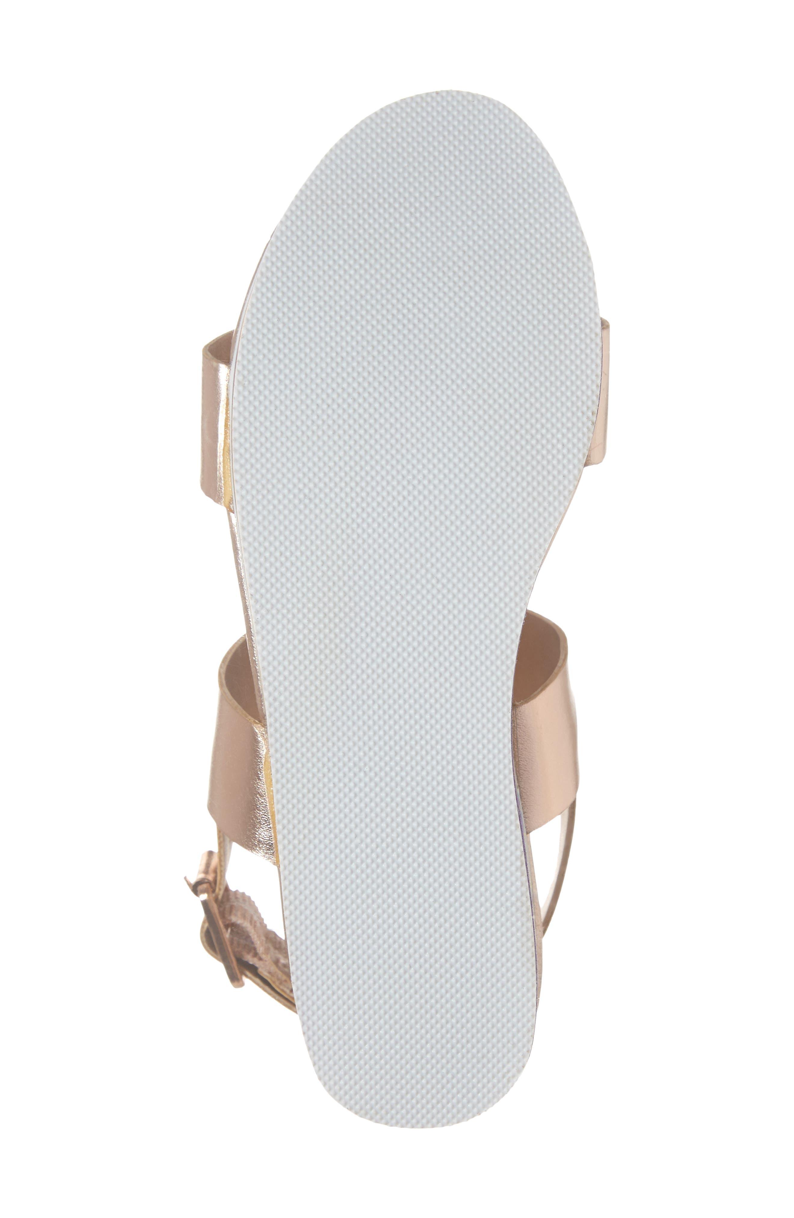 JKylie Platform Sandal,                             Alternate thumbnail 6, color,                             ROSE GOLD