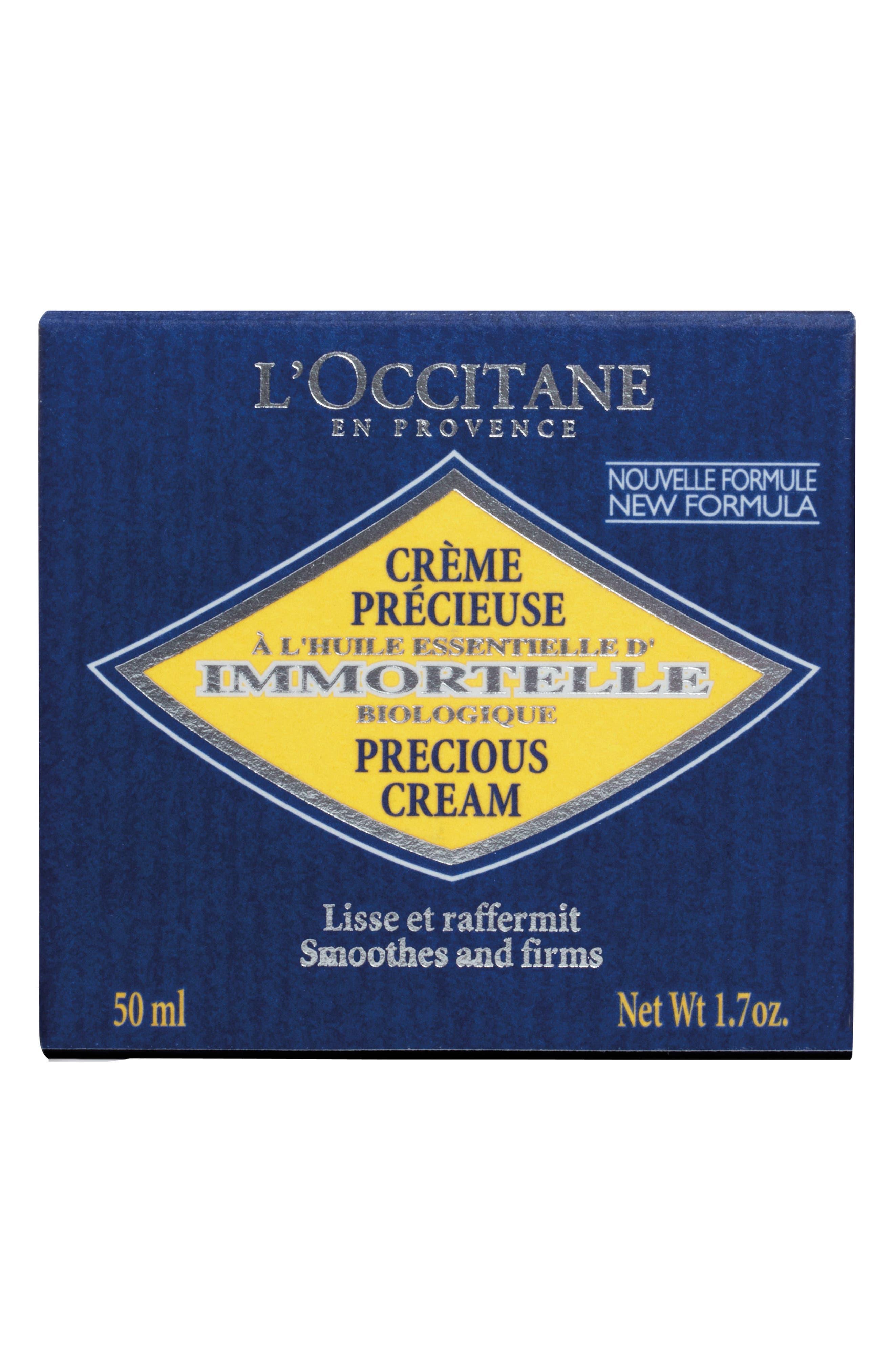 L'OCCITANE,                             Immortelle Precious Cream,                             Alternate thumbnail 3, color,                             NO COLOR