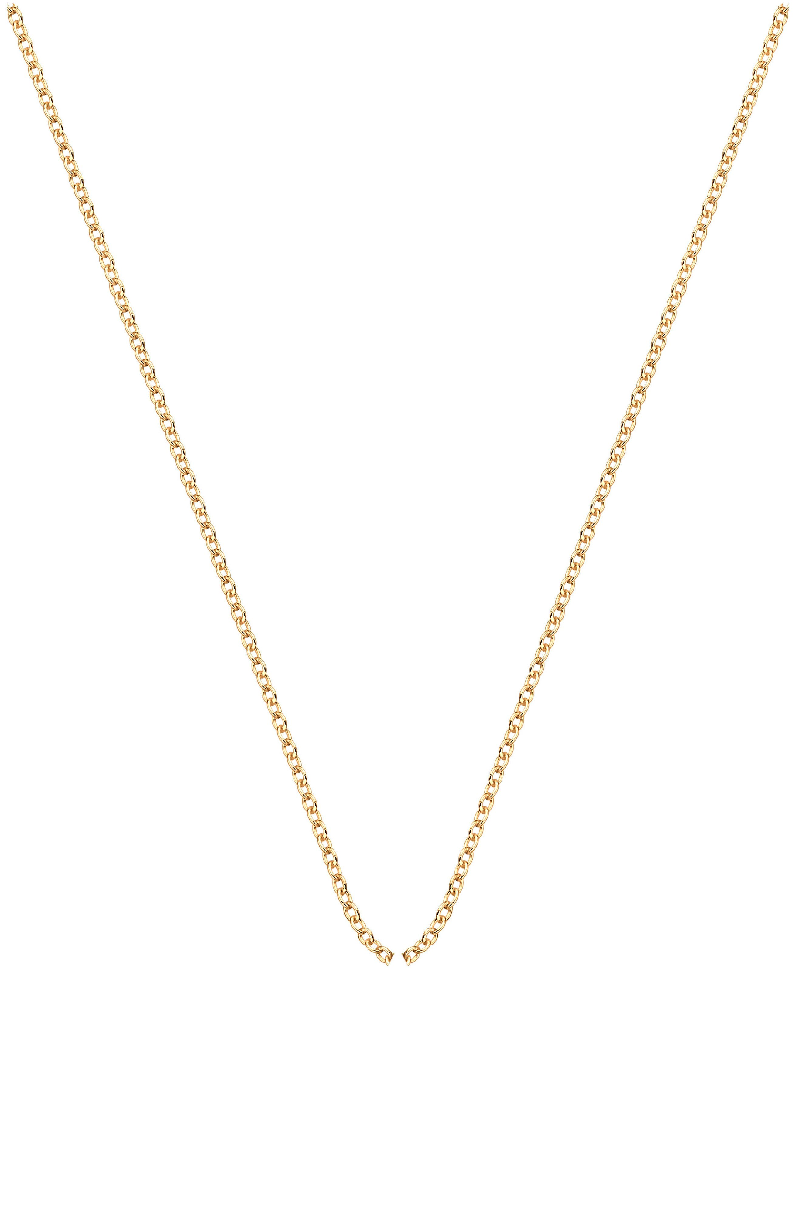 Rolo Chain Necklace,                             Main thumbnail 1, color,                             YELLOW GOLD
