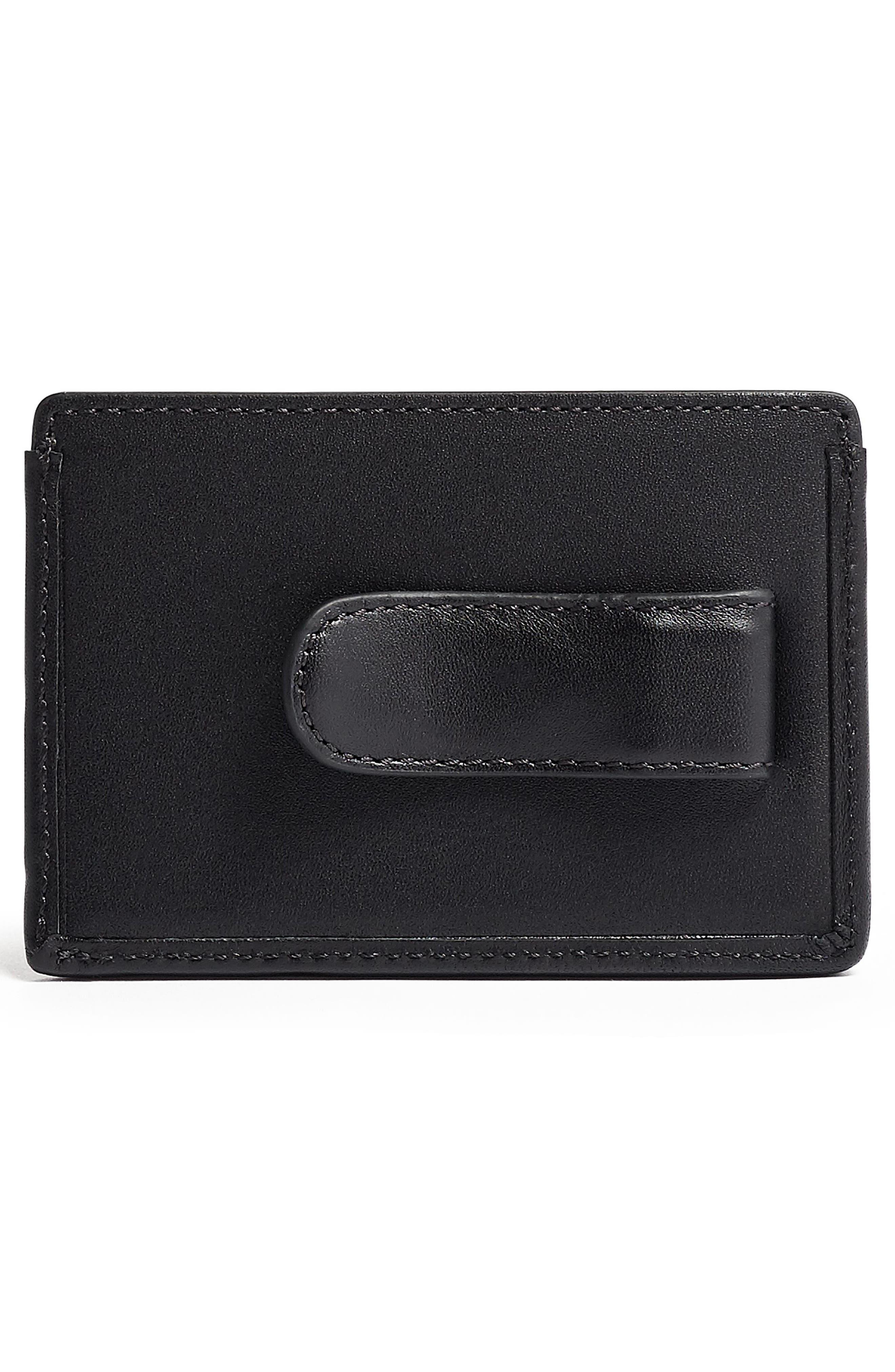 TUMI,                             Alpha ID Lock<sup>™</sup> Money Clip Card Case,                             Alternate thumbnail 2, color,                             GREY HIGHLANDS PRINT