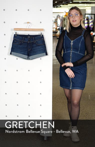 Croxley Cuffed Denim Shorts, sales video thumbnail