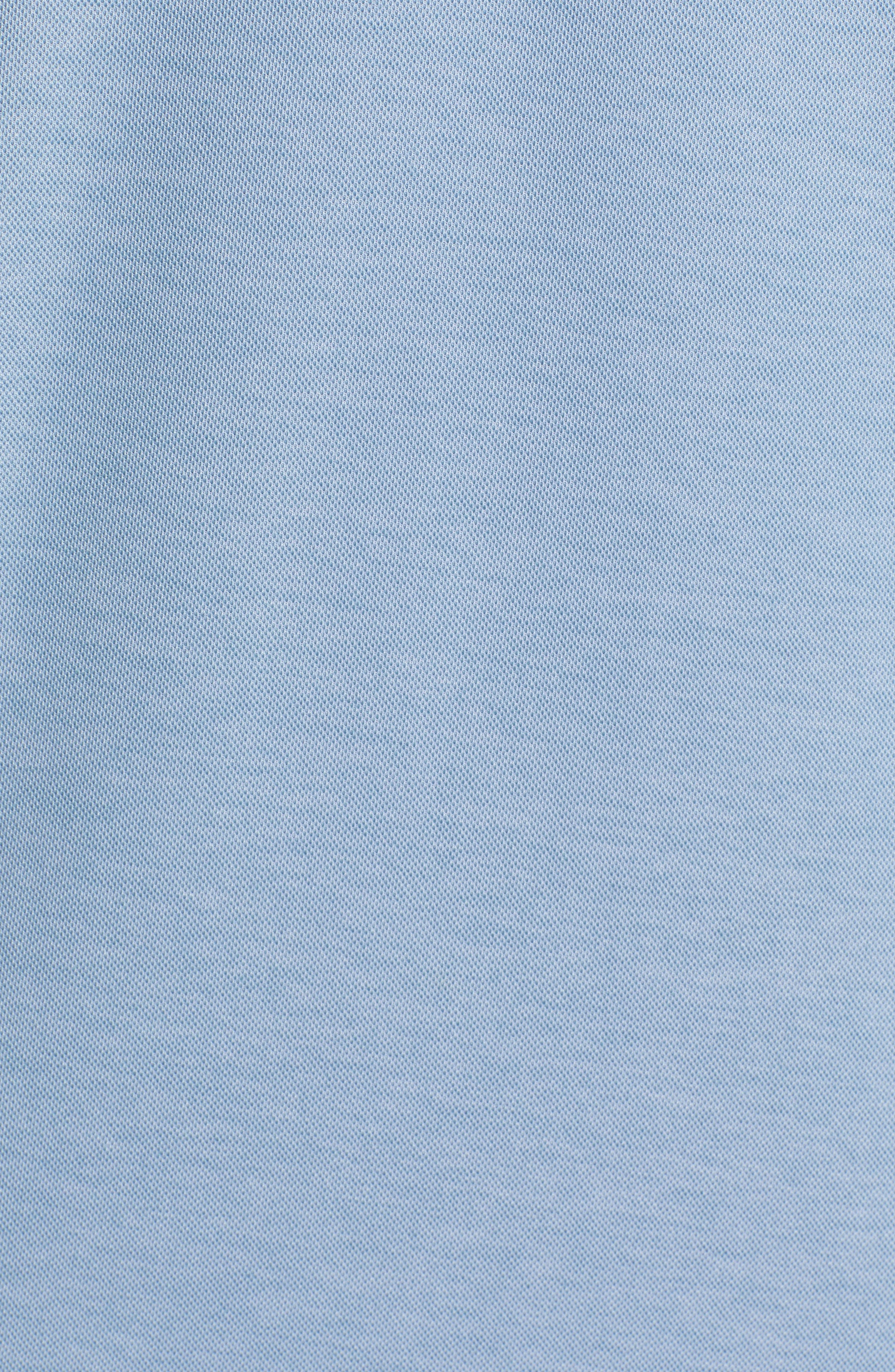 Instatweet Regular Fit Polo,                             Alternate thumbnail 5, color,                             HEATHER BLUESTONE
