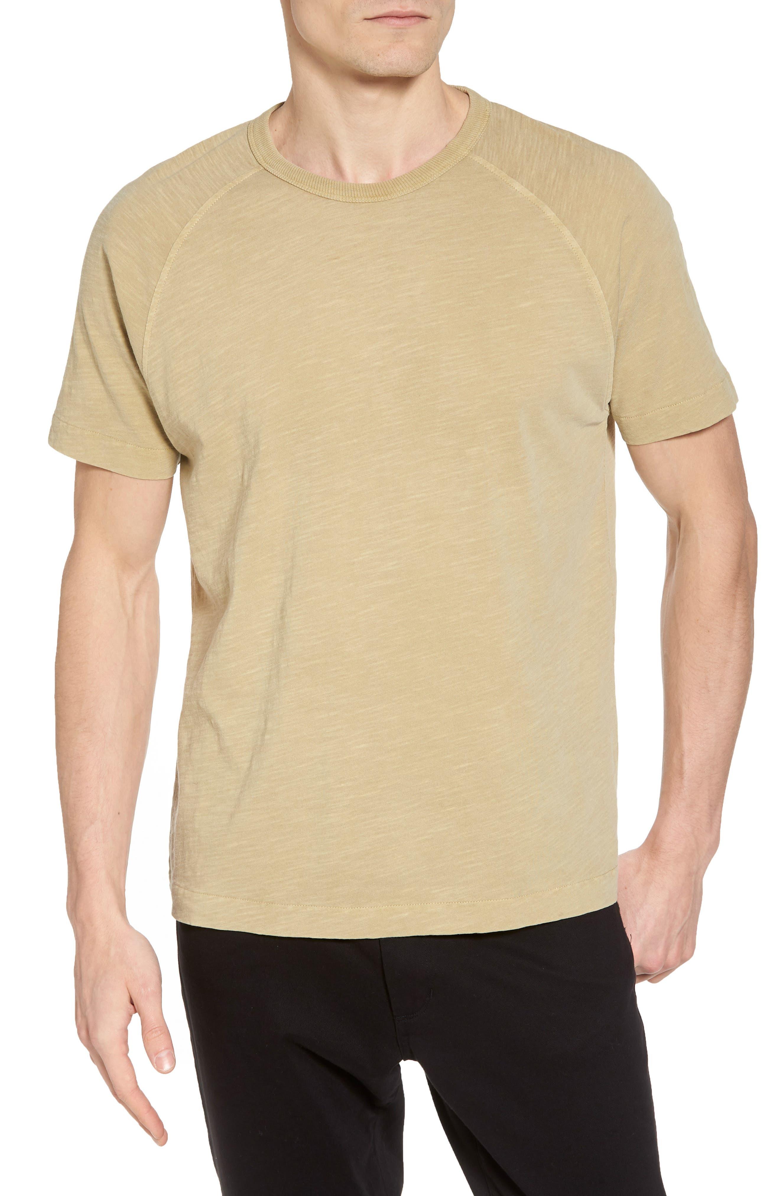 YMC,                             Television Raglan T-Shirt,                             Main thumbnail 1, color,                             250