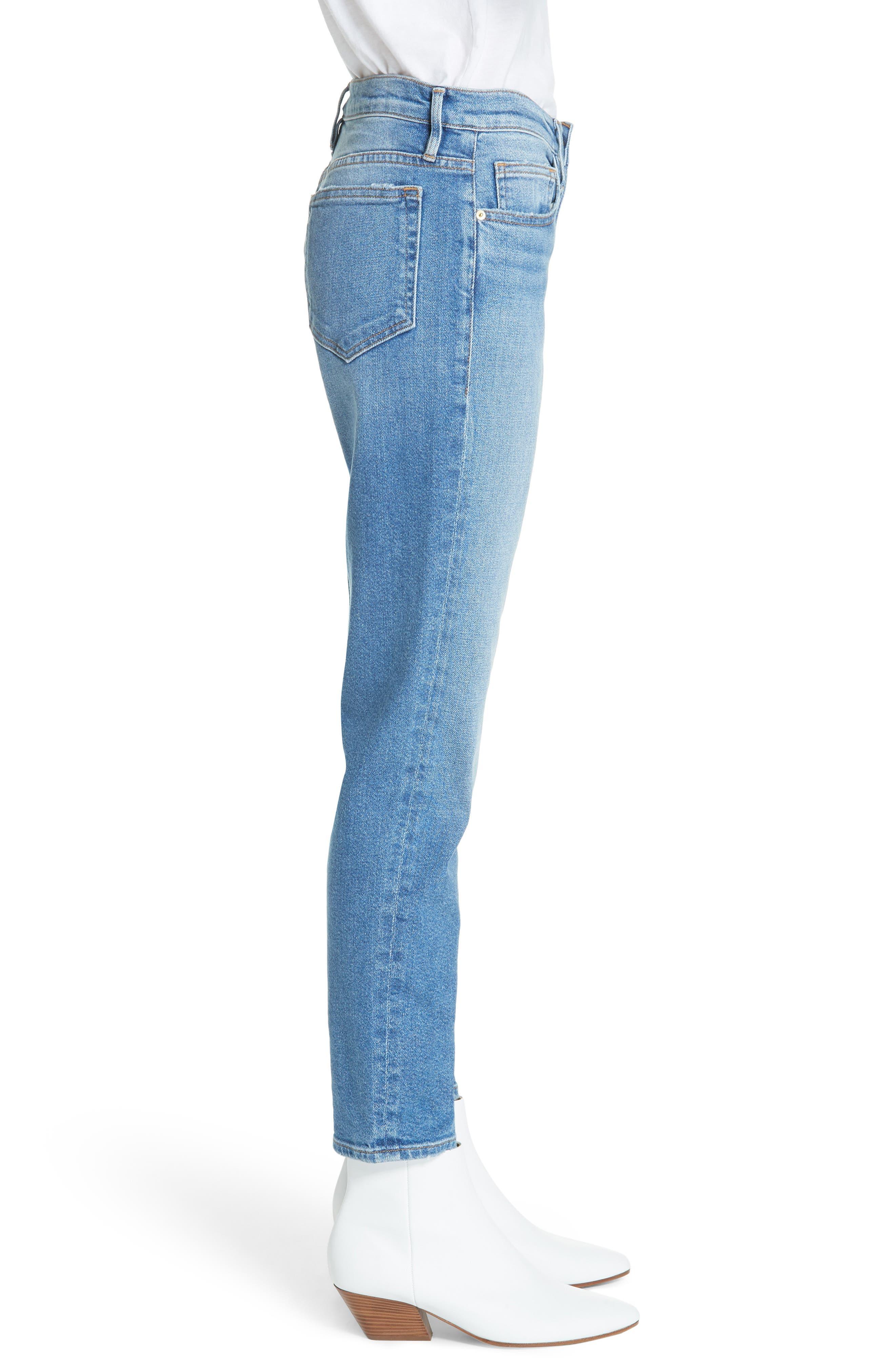 Le Boy Jeans,                             Alternate thumbnail 3, color,                             420