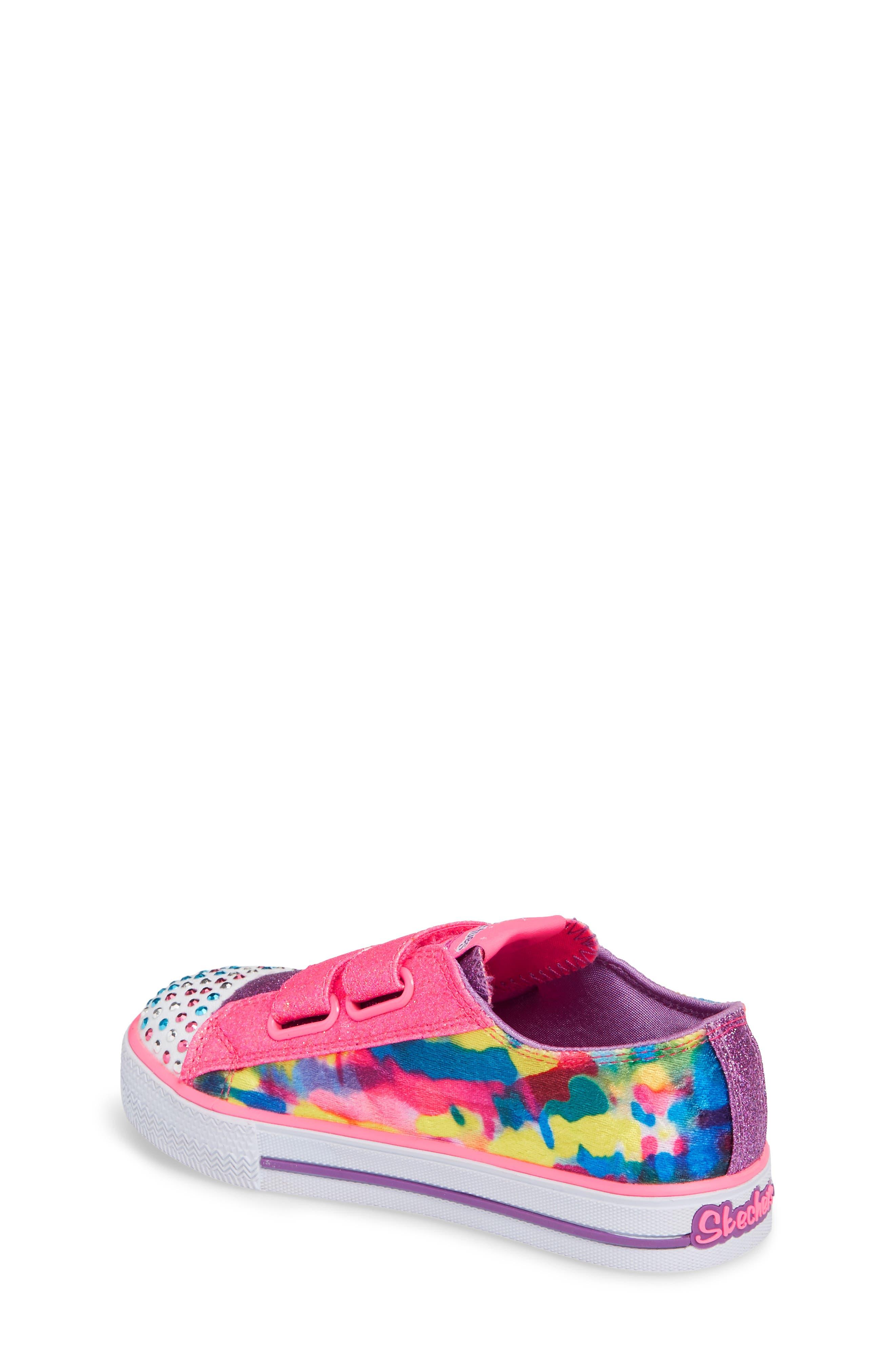 Shuffles - Itsy Bitsy Light-Up Sneaker,                             Alternate thumbnail 8, color,