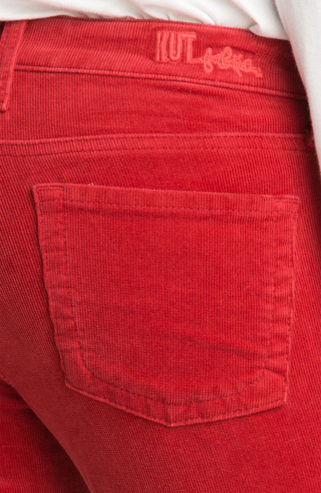 Baby Bootcut Corduroy Jeans,                             Alternate thumbnail 49, color,