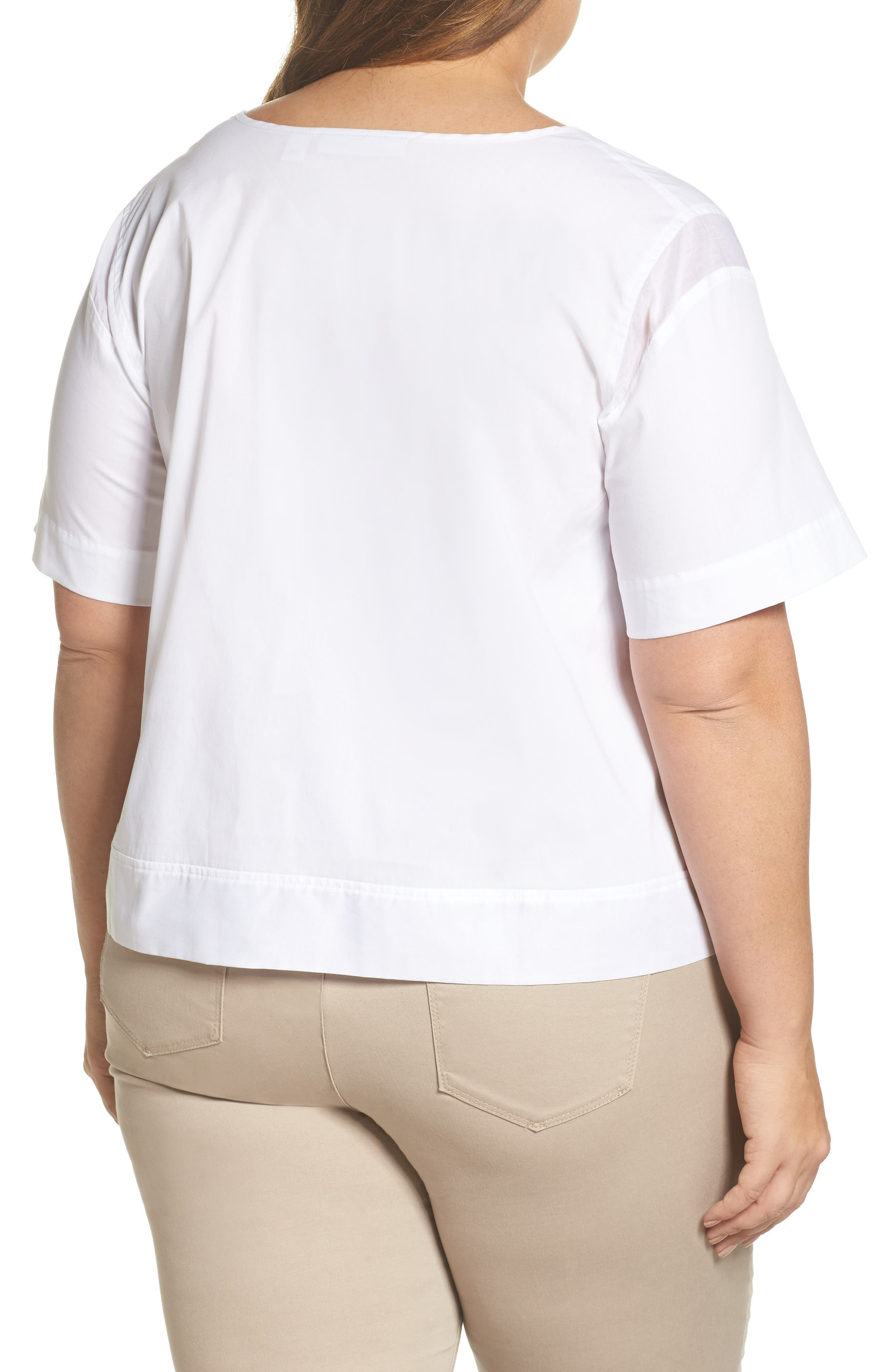 Boxy Popover Top,                             Alternate thumbnail 3, color,