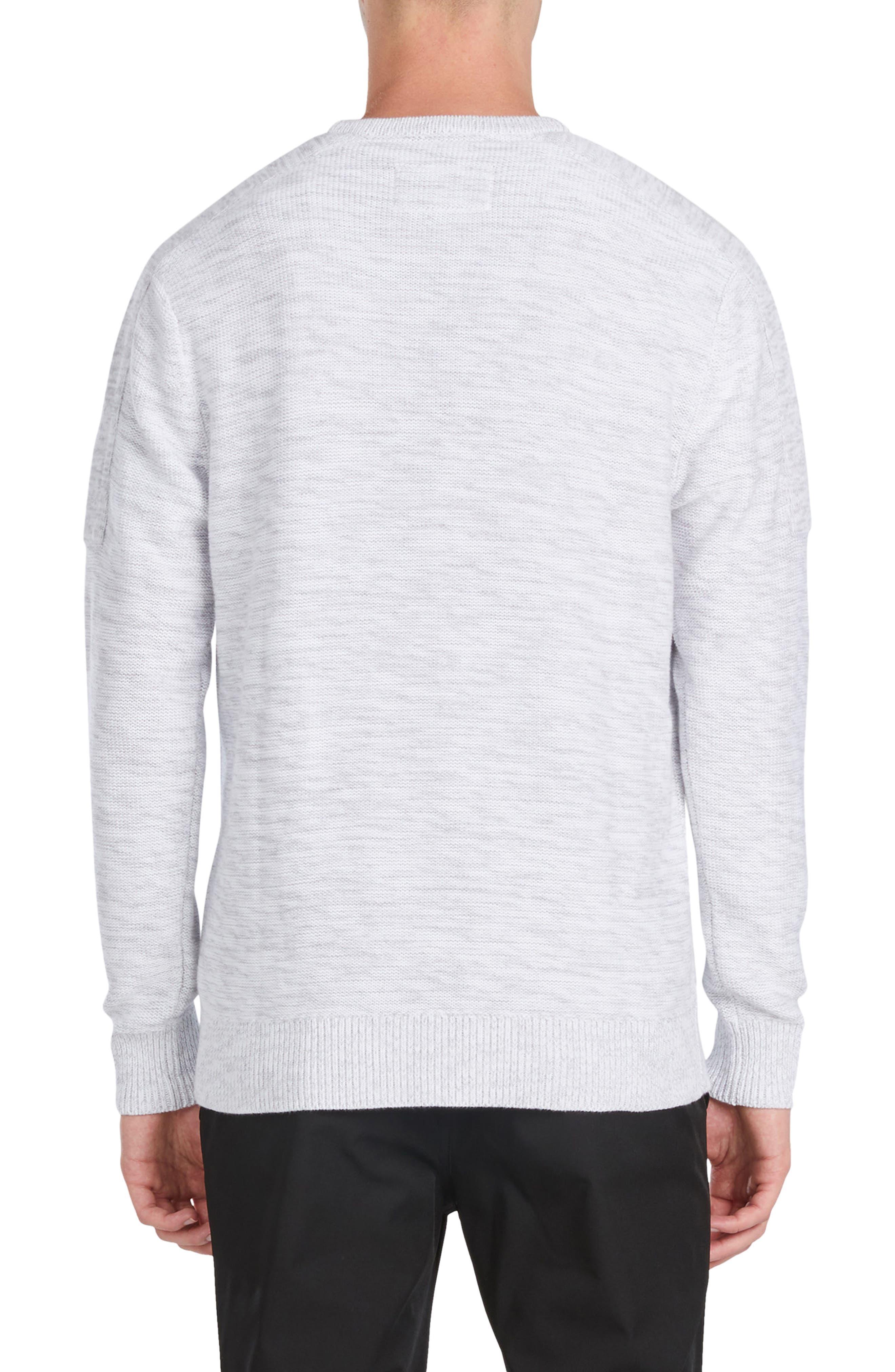Tube Crew Cotton Sweater,                             Alternate thumbnail 2, color,                             051