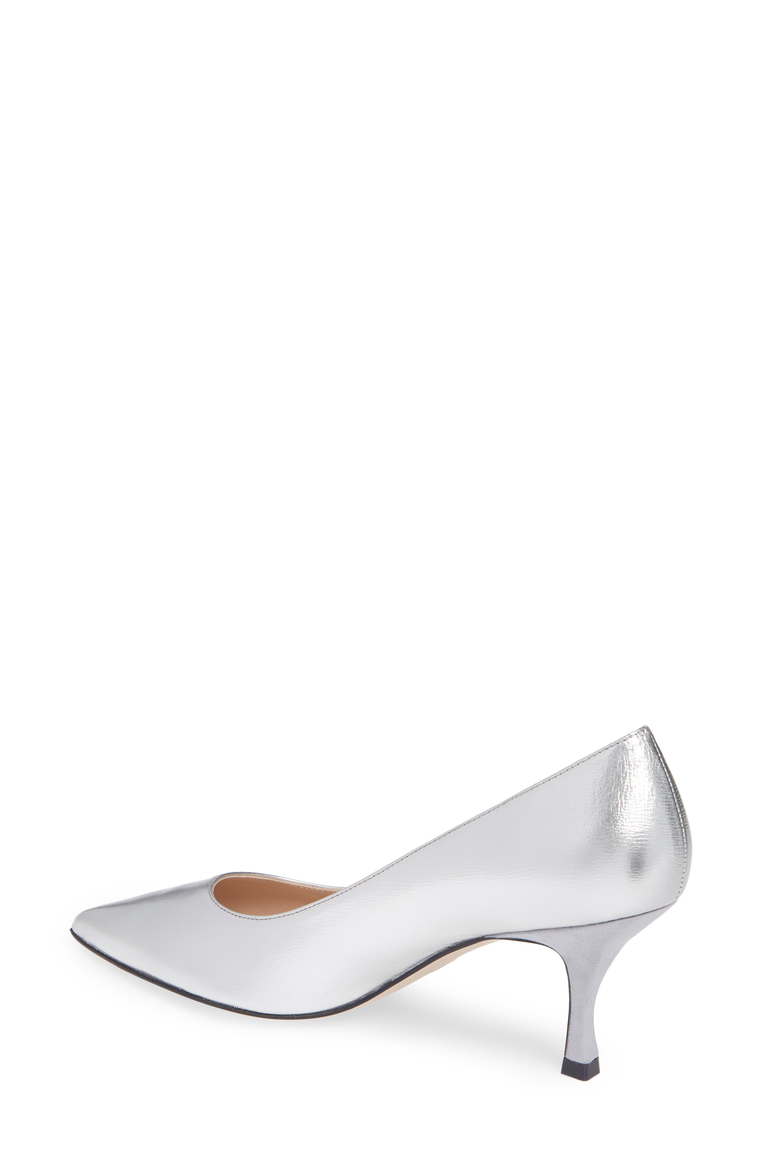 Tippi 70 Pointy Toe Pump,                             Alternate thumbnail 2, color,                             SILVER VENICE
