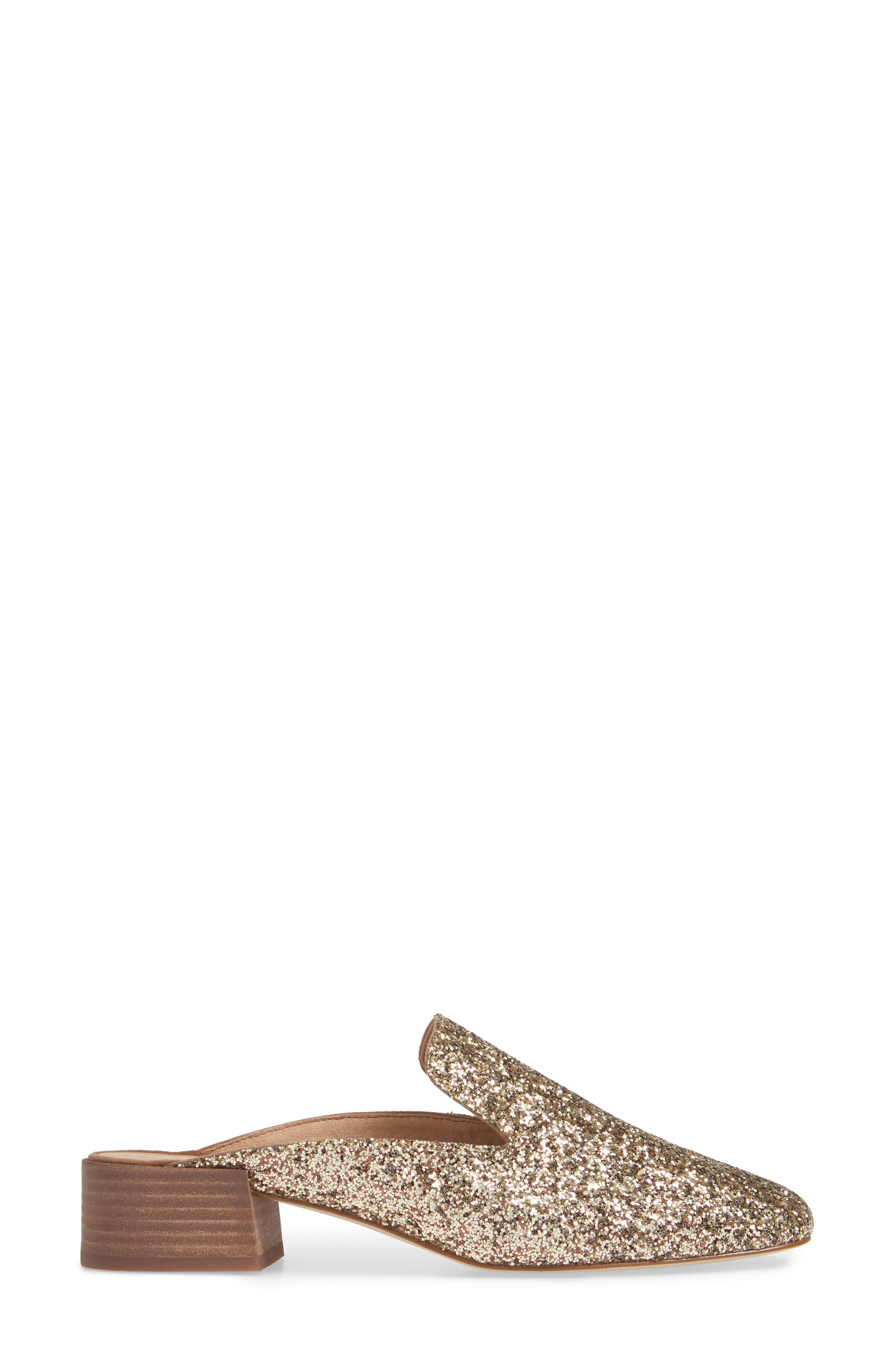 The Willa Loafer Mule,                             Alternate thumbnail 3, color,                             SMOKY GOLD