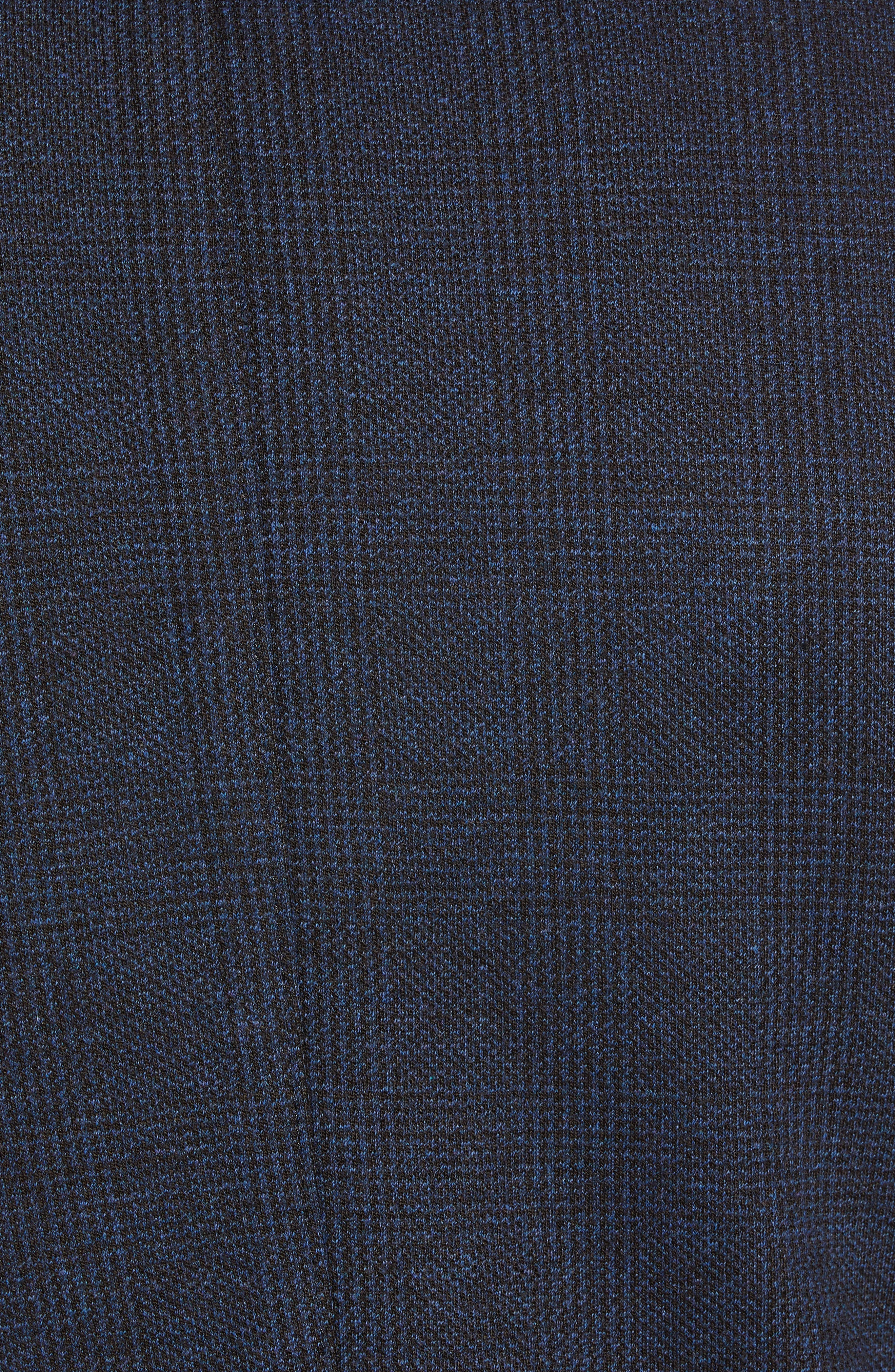 Regular Fit Knit Sport Coat,                             Alternate thumbnail 6, color,                             BROWN